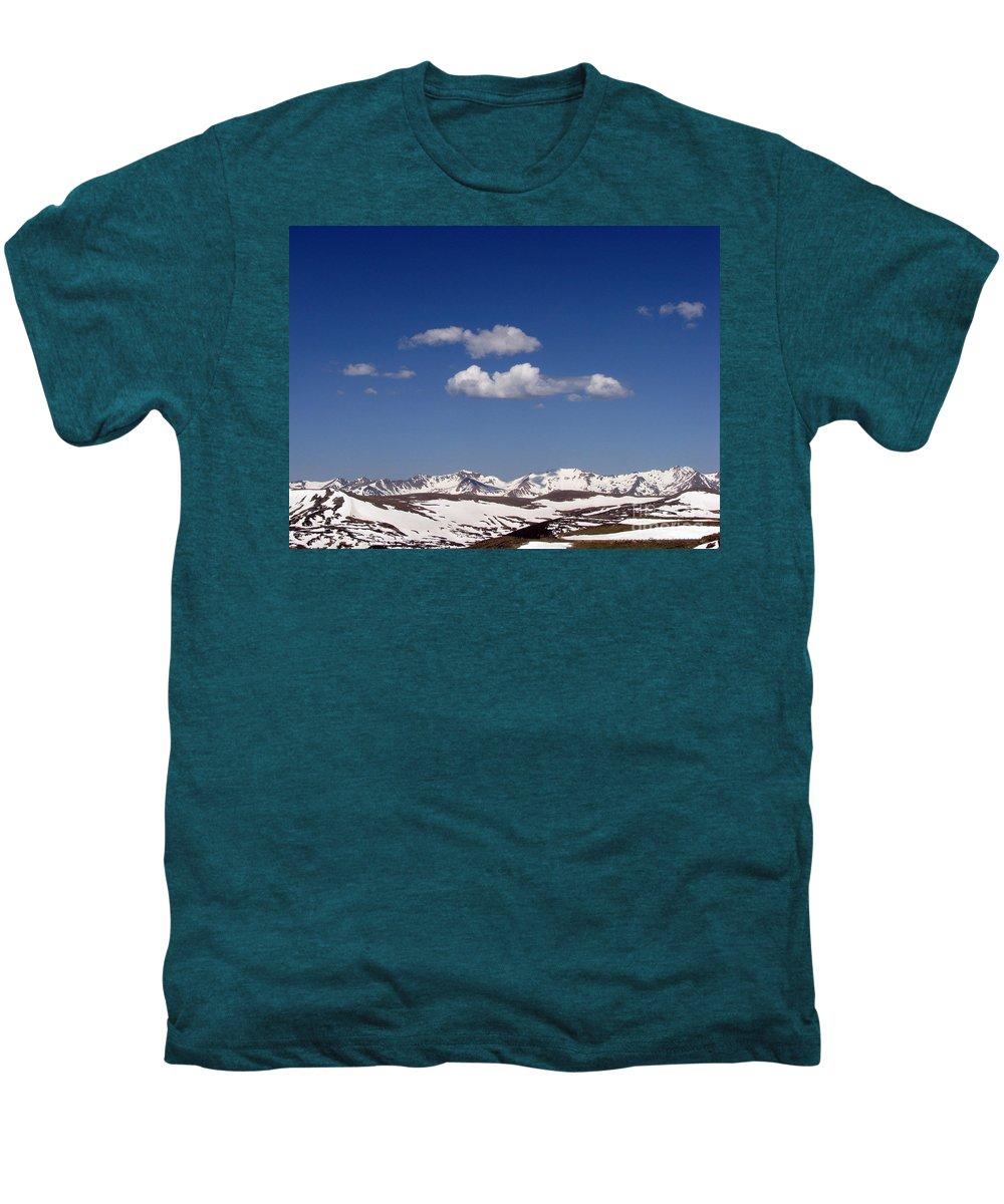 Mountains Men's Premium T-Shirt featuring the photograph Colorado by Amanda Barcon