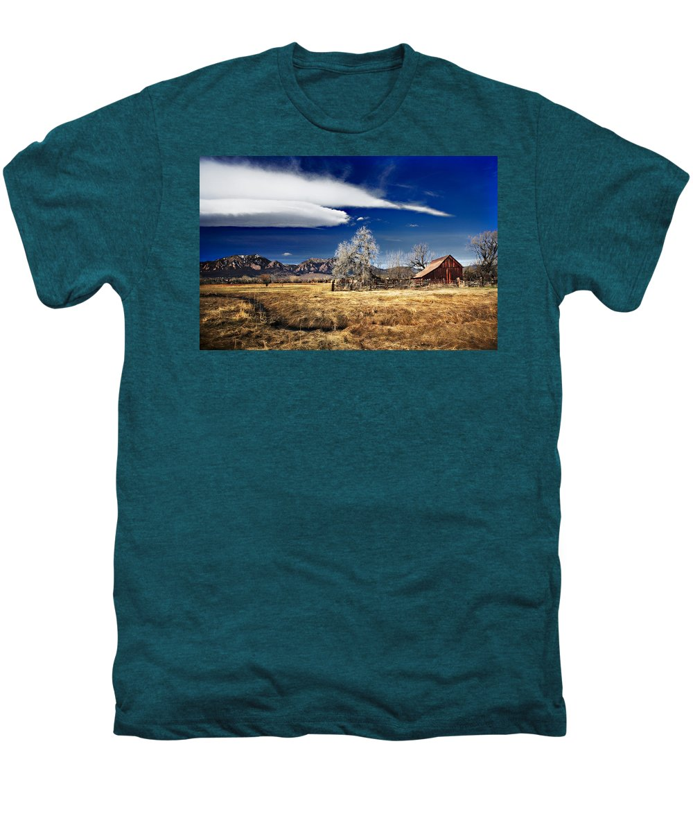 Colorado Men's Premium T-Shirt featuring the photograph Beautiful Colorado by Marilyn Hunt