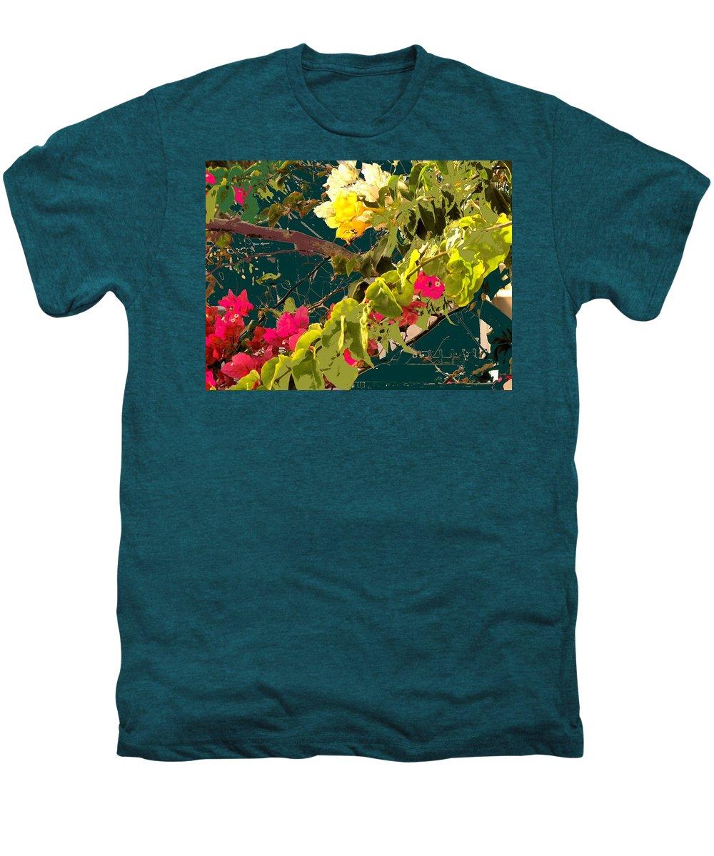 Men's Premium T-Shirt featuring the photograph Monica by Ian MacDonald