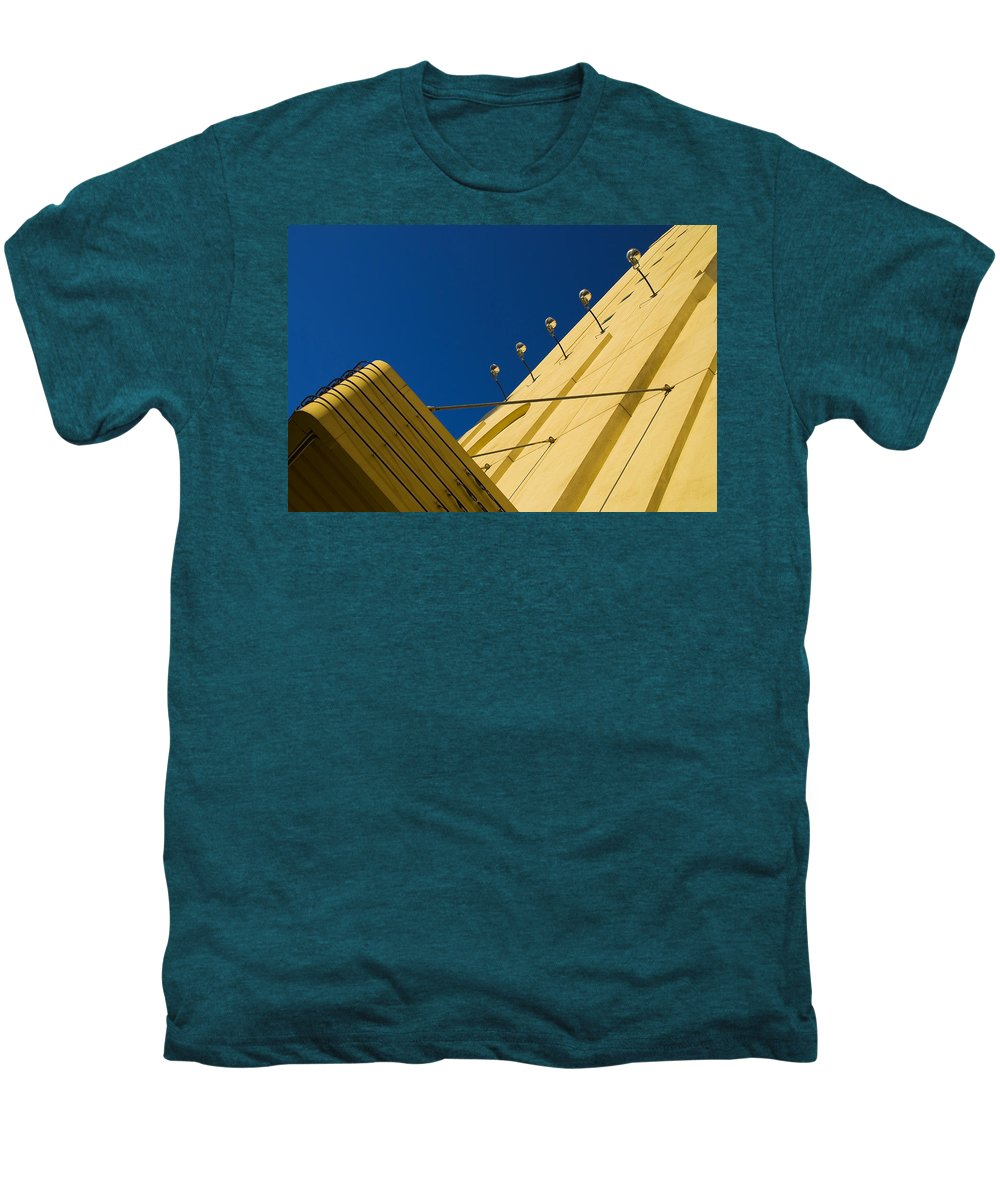 Electric Men's Premium T-Shirt featuring the photograph Old School Vegas by Skip Hunt