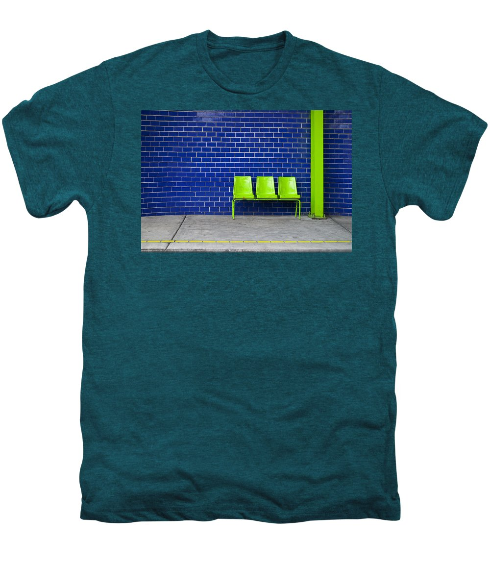 Green Men's Premium T-Shirt featuring the photograph Paradaxochi by Skip Hunt