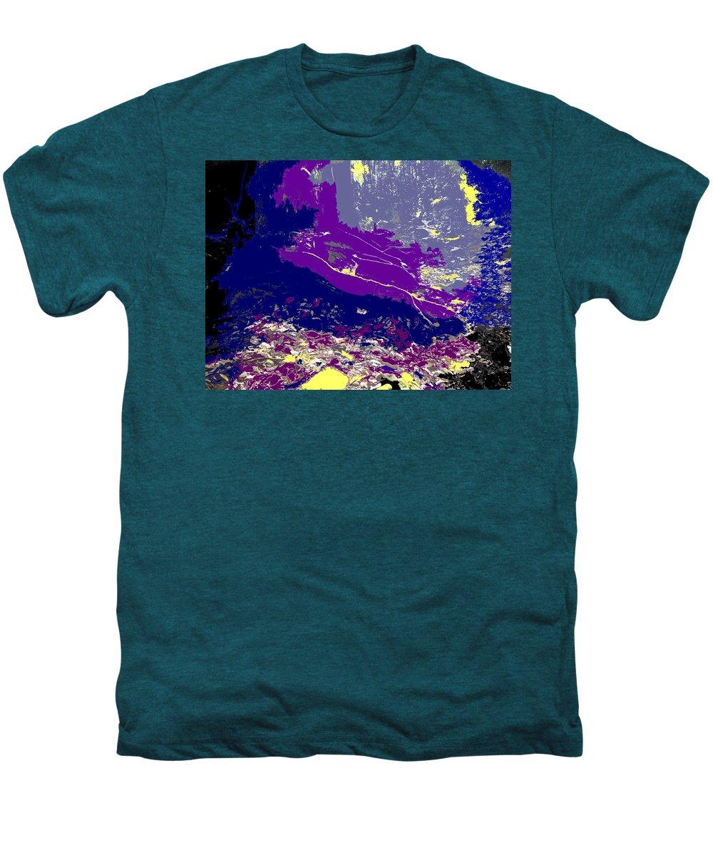 Rainforest Men's Premium T-Shirt featuring the photograph Rainforest Shadows by Ian MacDonald