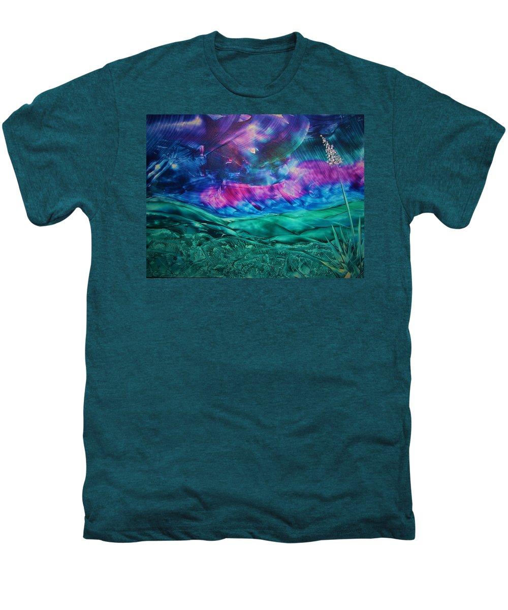 Desert Men's Premium T-Shirt featuring the print Sierra Vista by Melinda Etzold