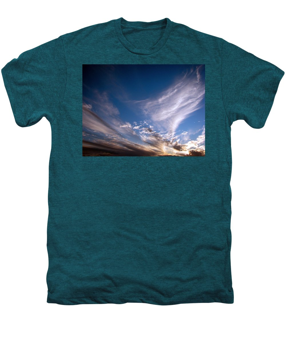 Skies Men's Premium T-Shirt featuring the photograph Sky by Amanda Barcon