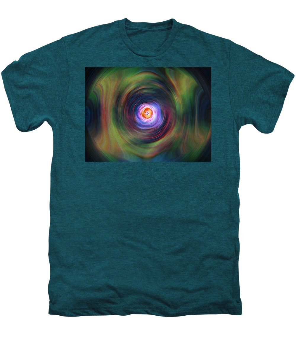 Abstrract Men's Premium T-Shirt featuring the digital art Space Time Sequence by Don Quackenbush