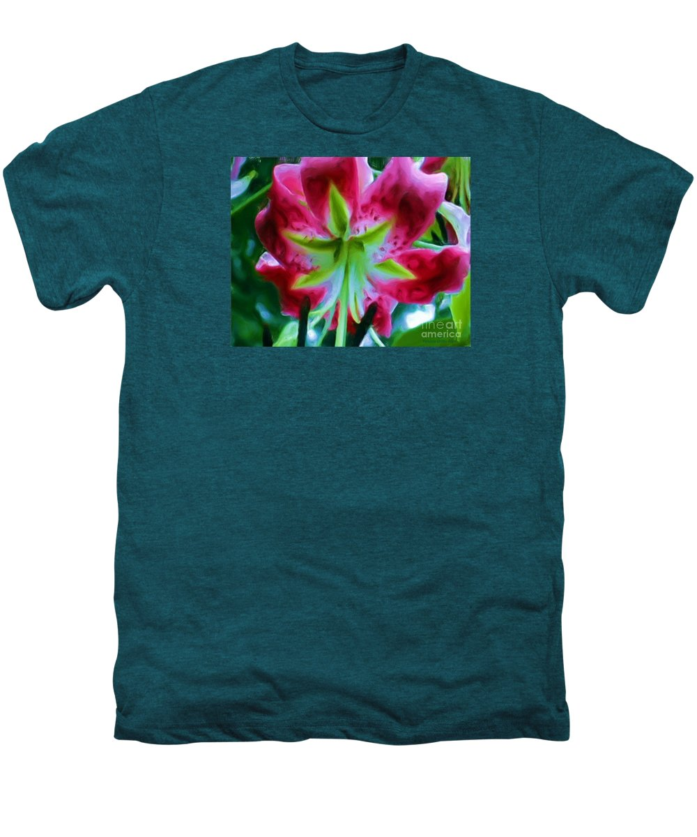 Fine Art Photography Men's Premium T-Shirt featuring the photograph Stargazer by Patricia Griffin Brett