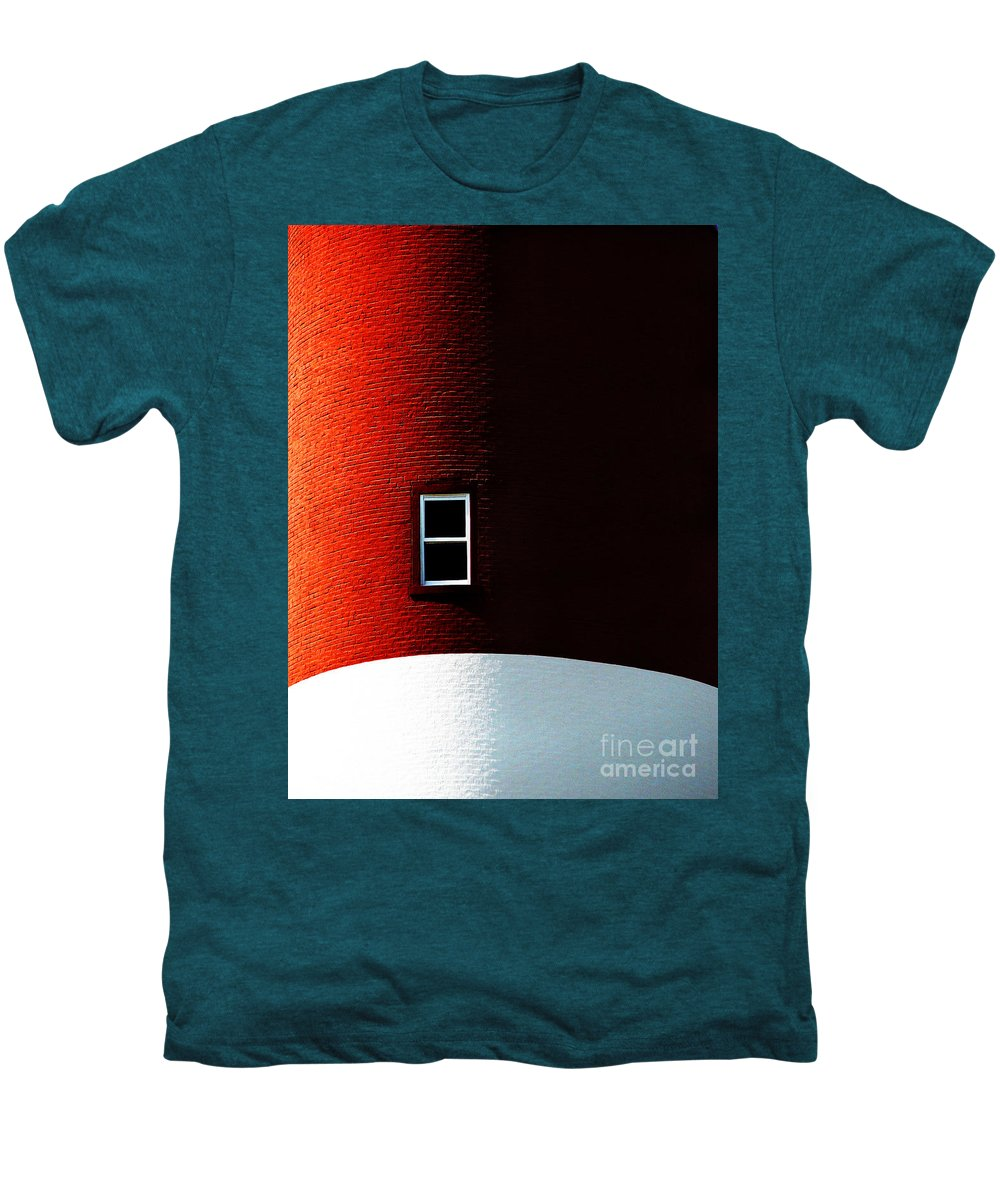 Dipasquale Men's Premium T-Shirt featuring the photograph The View by Dana DiPasquale