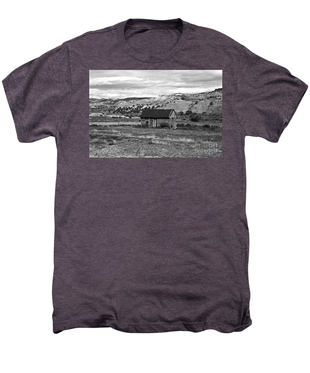 Utah Men's Premium T-Shirt featuring the photograph Courage by Kathy McClure