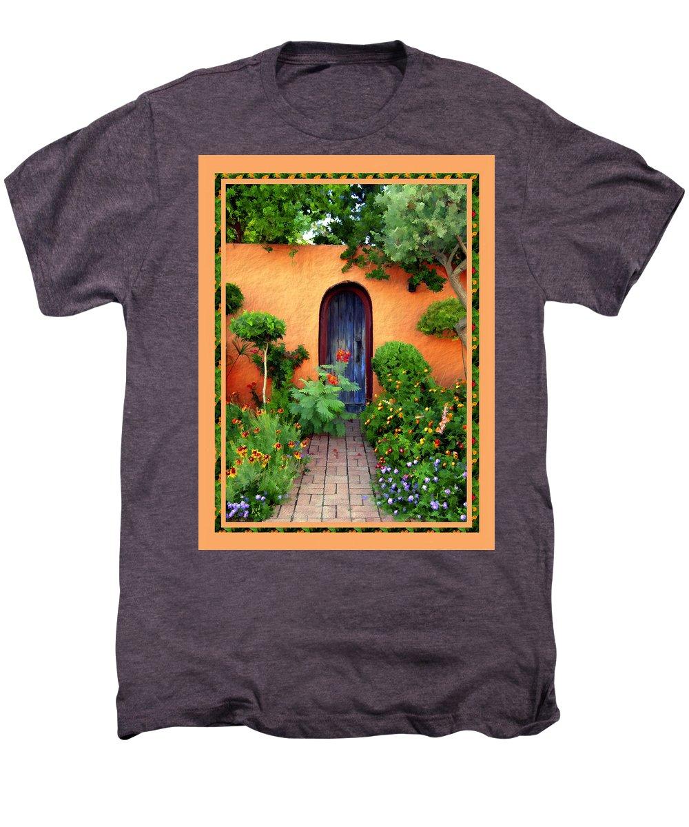 Garden Men's Premium T-Shirt featuring the photograph Garden Delights Mesilla by Kurt Van Wagner