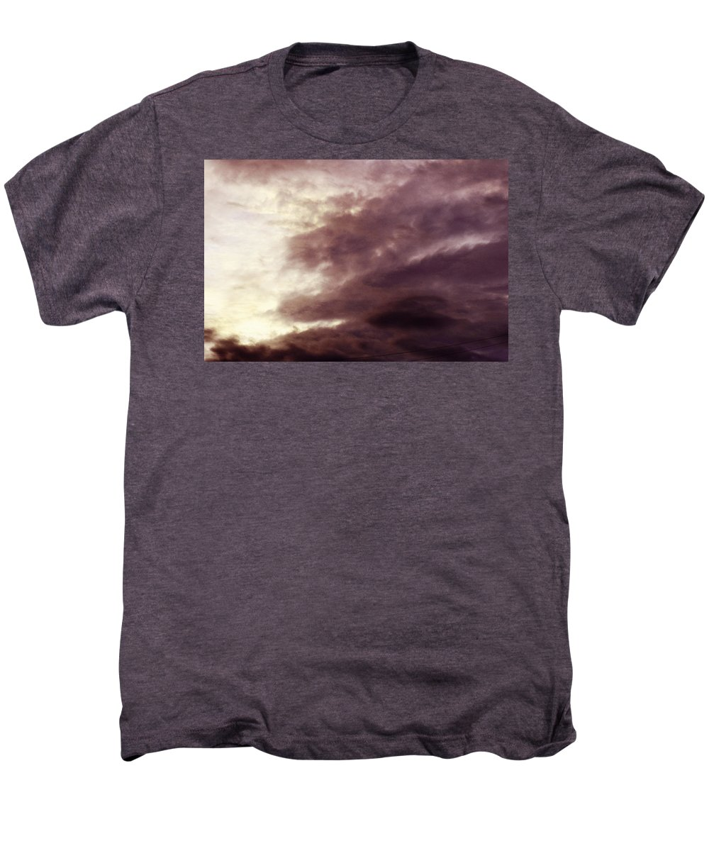 Clay Men's Premium T-Shirt featuring the photograph Clouds by Clayton Bruster