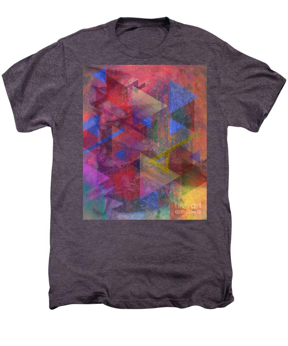 Another Time Men's Premium T-Shirt featuring the digital art Another Time by John Beck
