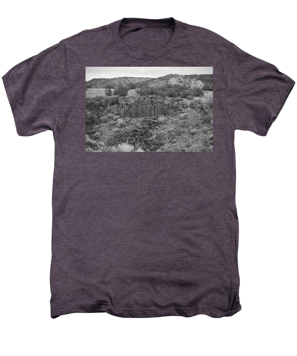 Rocks Men's Premium T-Shirt featuring the photograph Cochiti Rocks by Rob Hans
