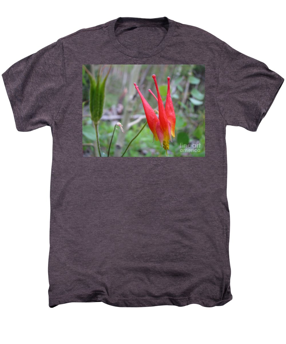Flowers Of Colorado Men's Premium T-Shirt featuring the photograph Crown by Amanda Barcon