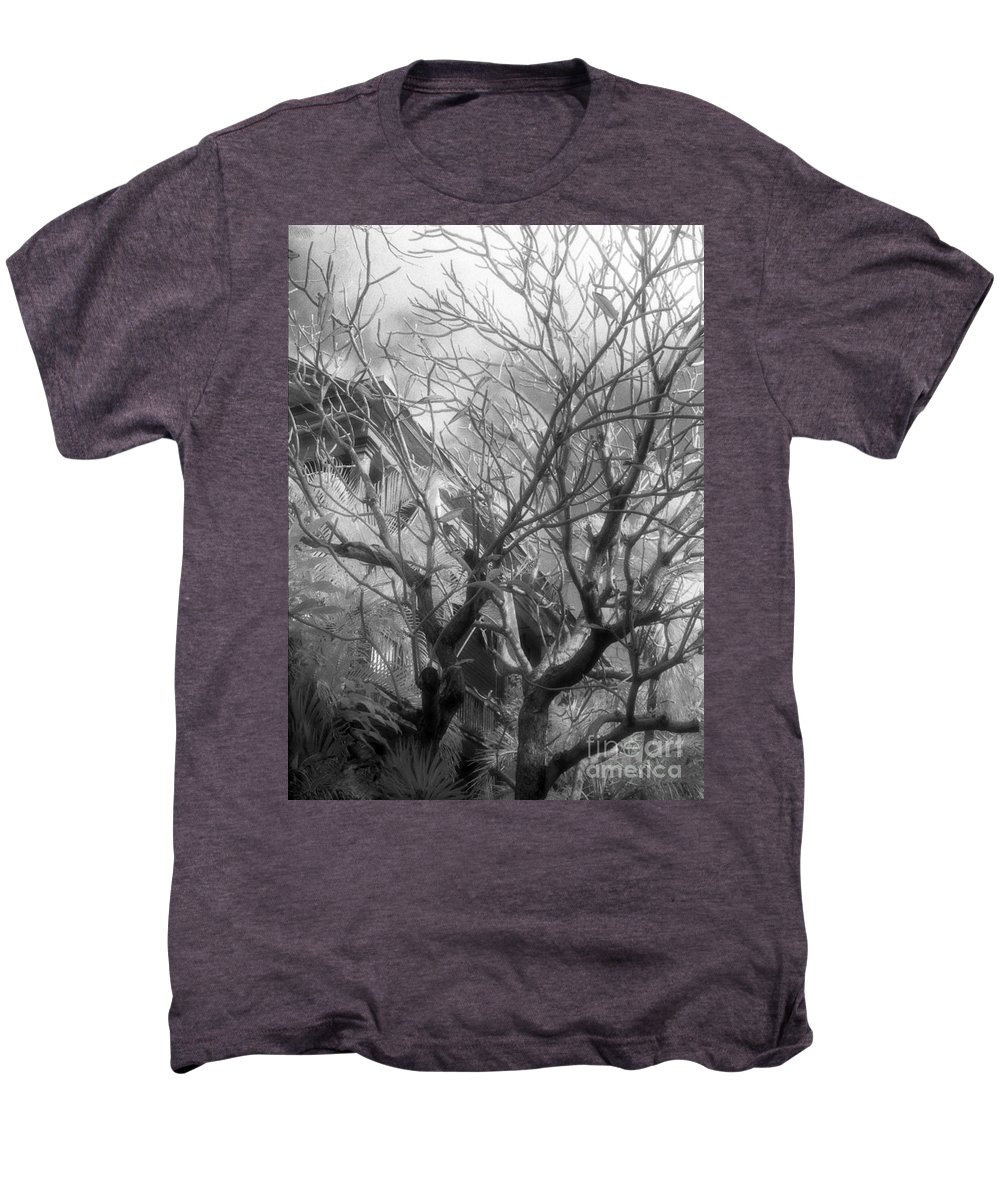 Infrared Photography Men's Premium T-Shirt featuring the photograph Day Dream by Richard Rizzo