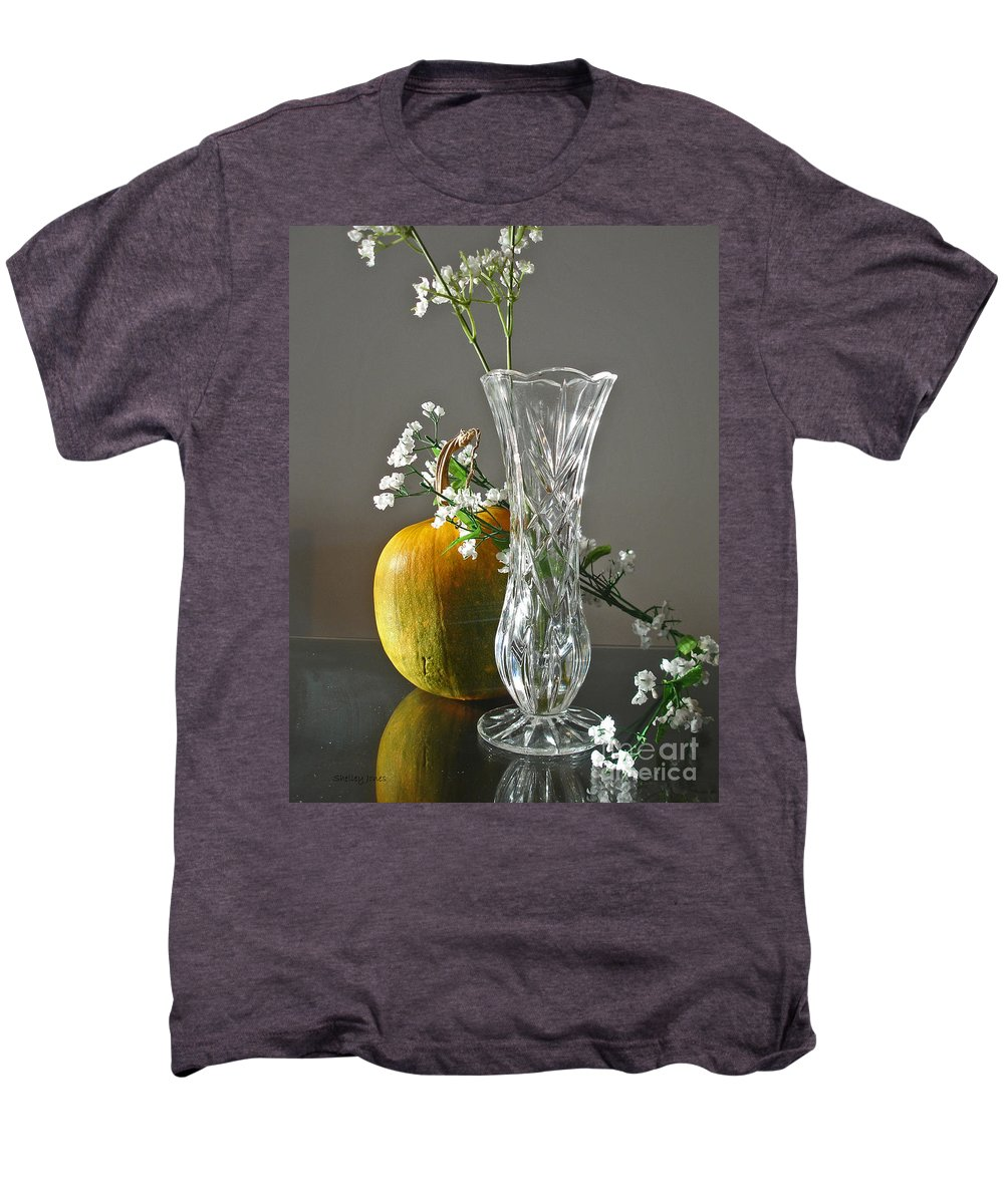 Still Life Men's Premium T-Shirt featuring the photograph Everlasting Harvest by Shelley Jones