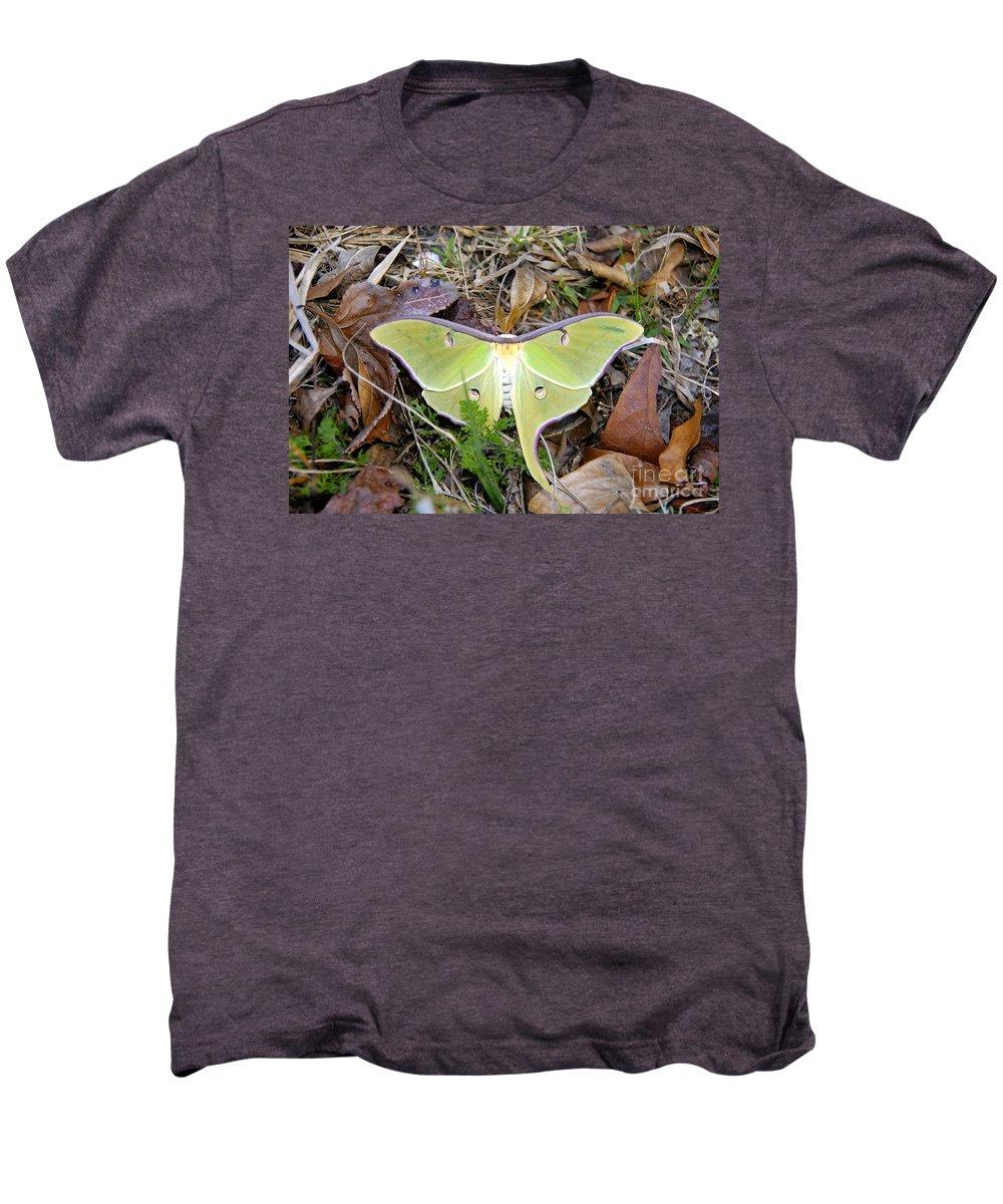 Moth Men's Premium T-Shirt featuring the photograph Fallen Angel by David Lee Thompson