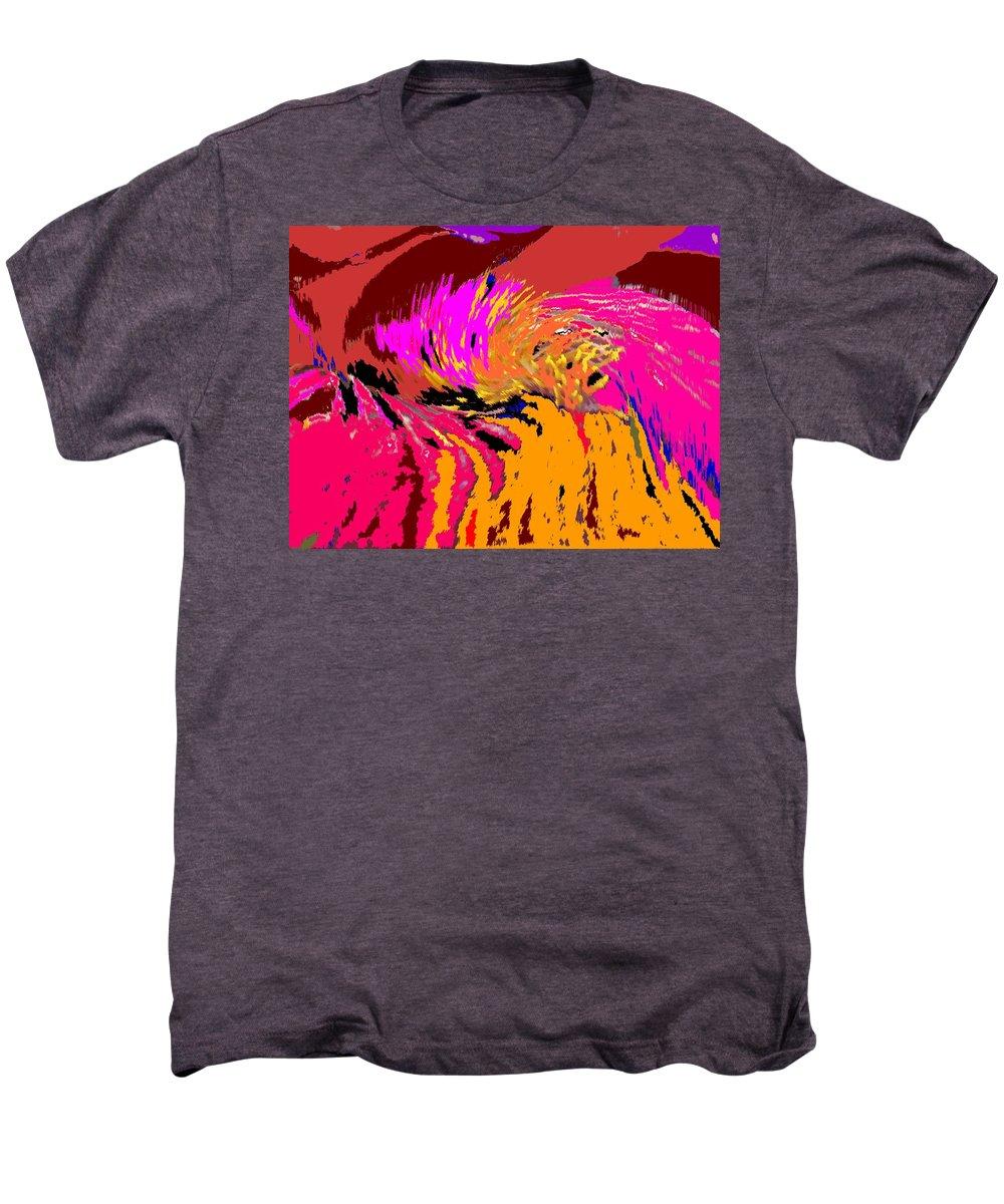 Abstract Men's Premium T-Shirt featuring the digital art Flow by Ian MacDonald