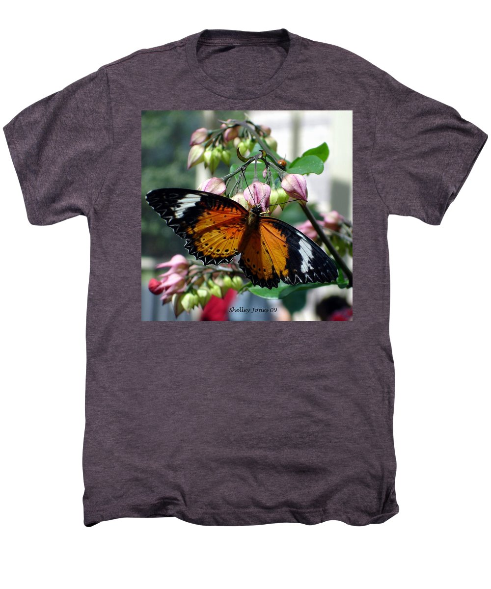Photography Men's Premium T-Shirt featuring the photograph Friends Come In Small Packages by Shelley Jones