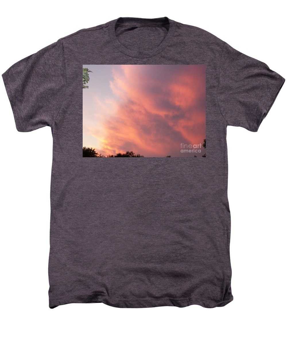 Nature Men's Premium T-Shirt featuring the photograph Futile Faces by Stephen King