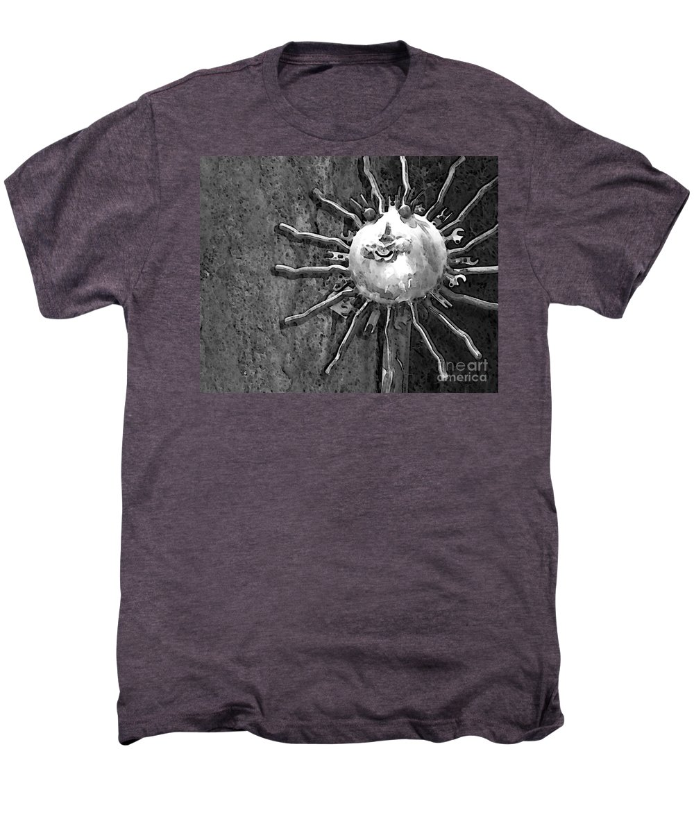 Sun Men's Premium T-Shirt featuring the photograph Here Comes The Sun by Debbi Granruth