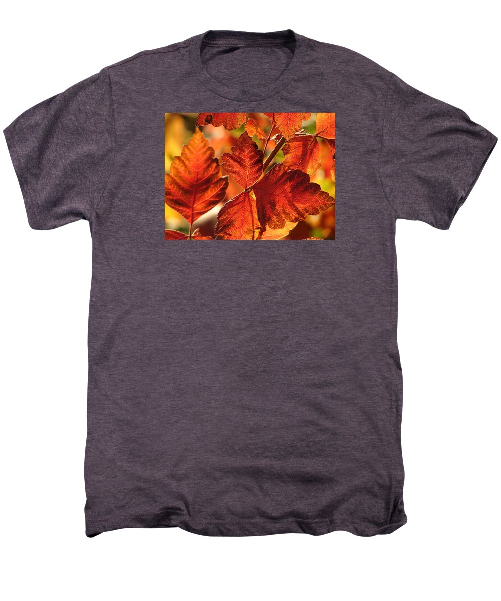 Photograph Men's Premium T-Shirt featuring the photograph Jack Painted My Yard by J R Seymour