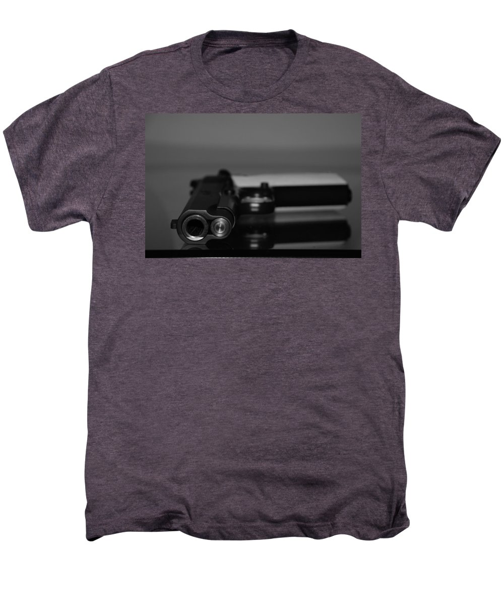 45 Auto Men's Premium T-Shirt featuring the photograph Kimber 45 by Rob Hans