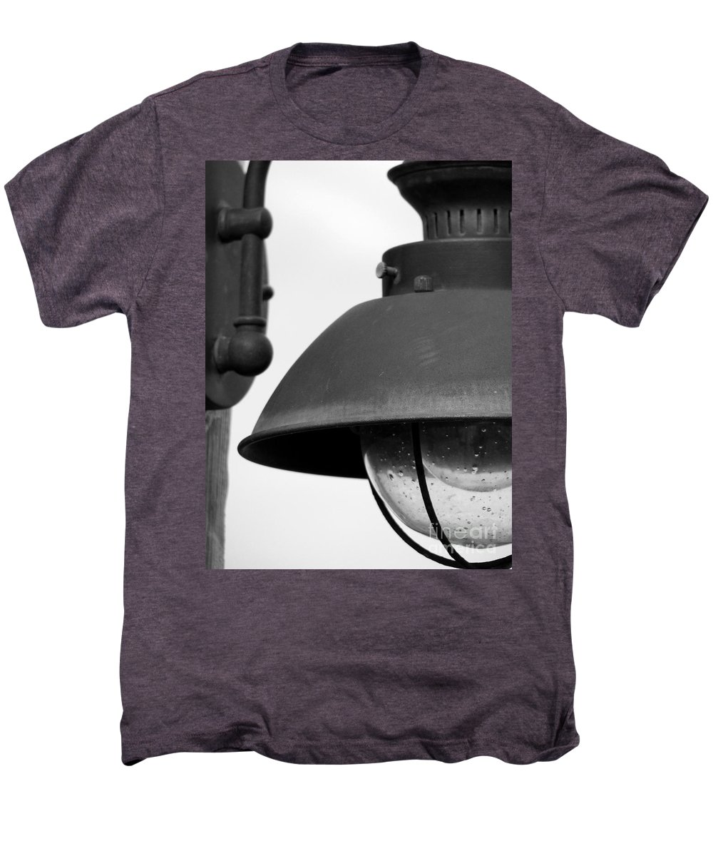 Lamppost Men's Premium T-Shirt featuring the photograph Lamp Post by Amanda Barcon