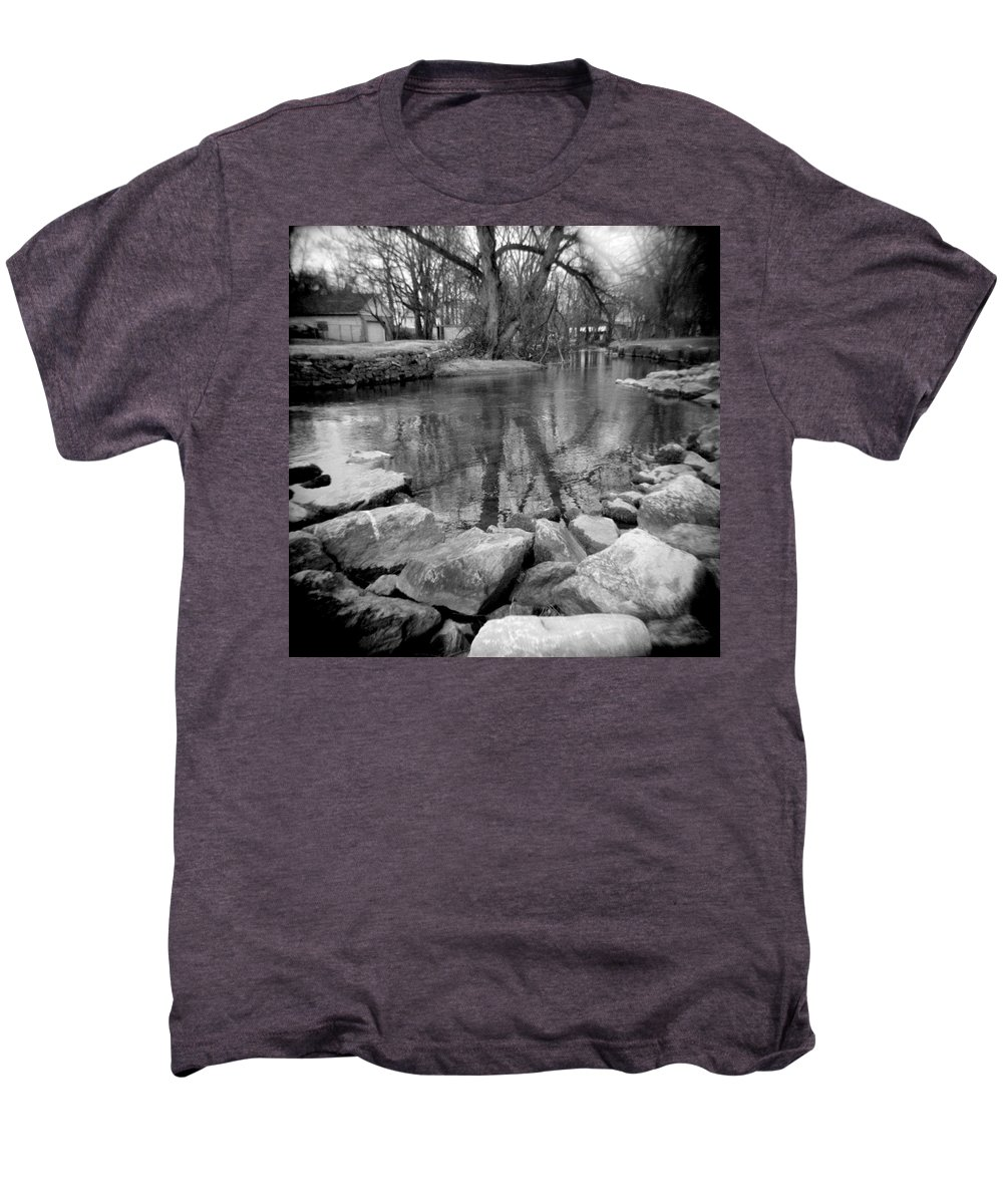 Photograph Men's Premium T-Shirt featuring the photograph Le Tort Reflection by Jean Macaluso