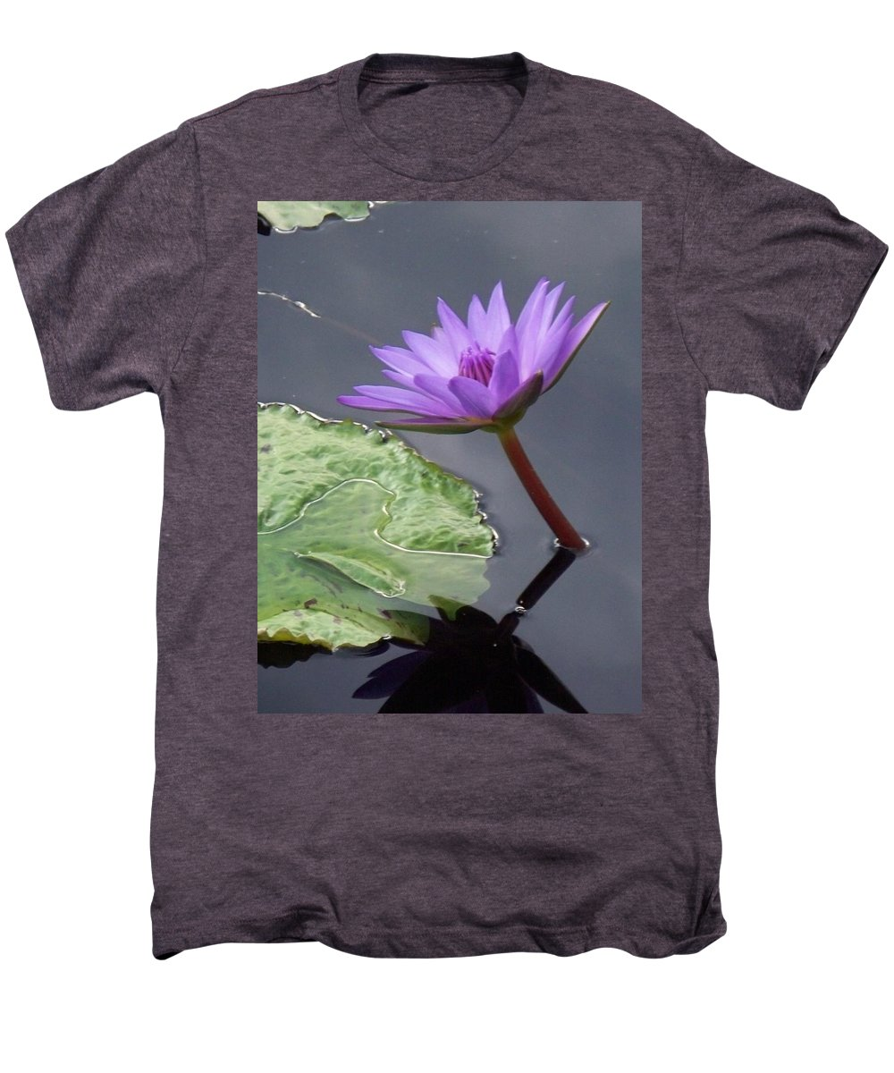 Photograph Men's Premium T-Shirt featuring the photograph Lily Pond by Eric Schiabor