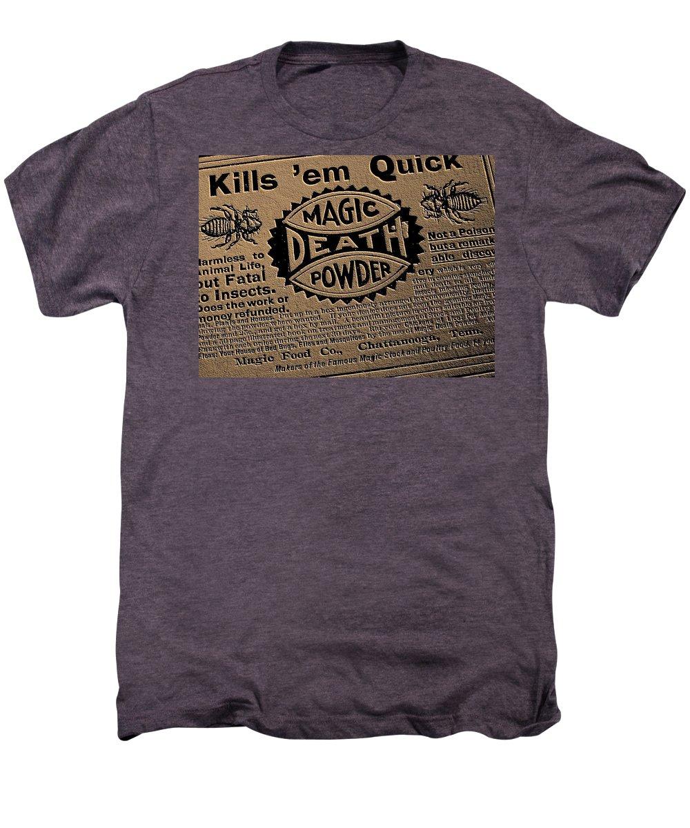 Magic Men's Premium T-Shirt featuring the photograph Magic Death Powder by Ed Smith