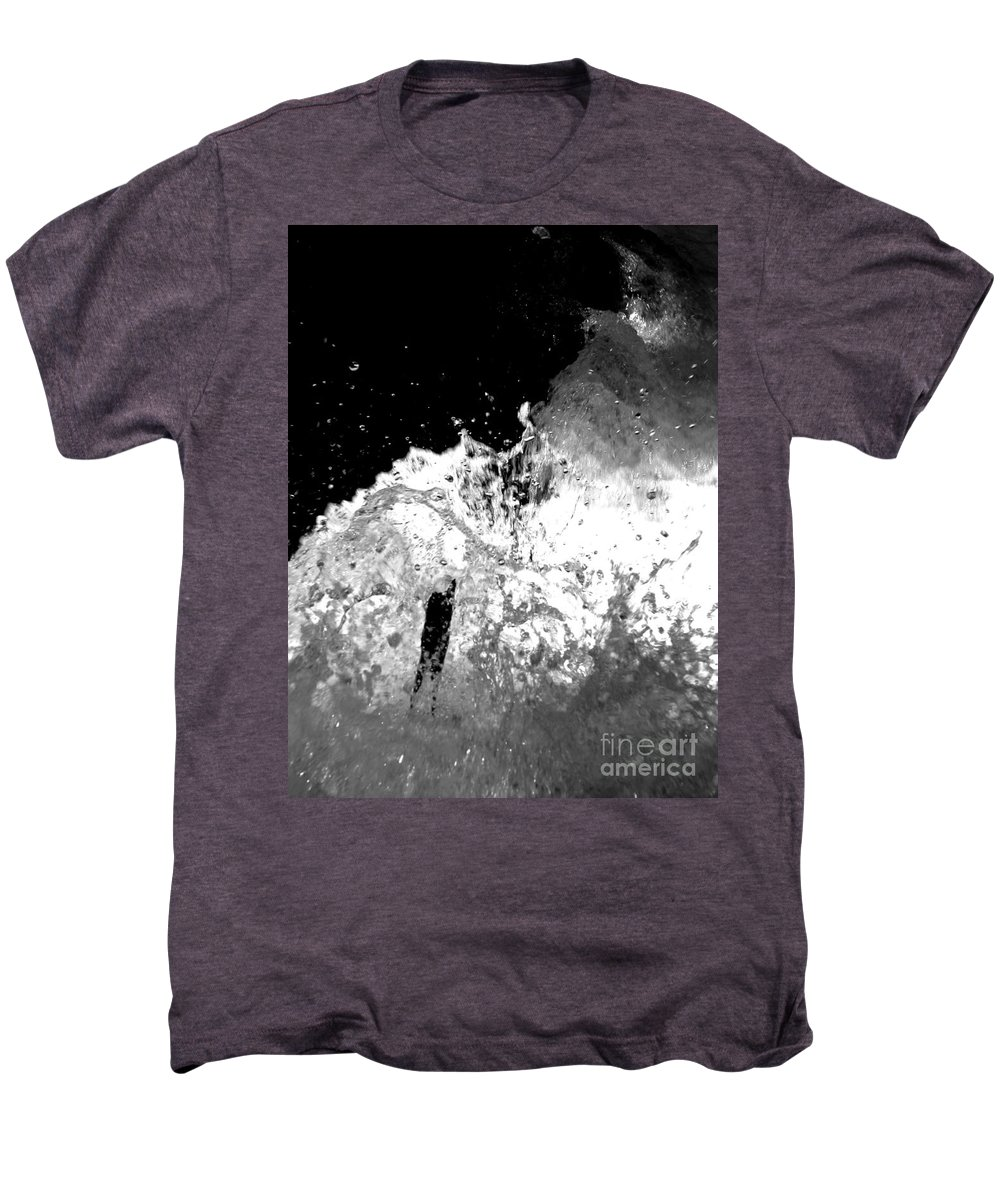 Water Men's Premium T-Shirt featuring the photograph Natural Power by Amanda Barcon
