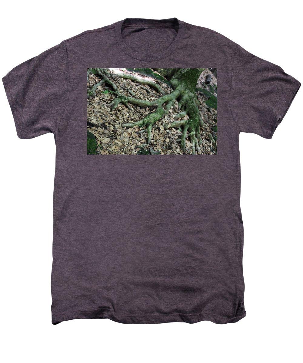 Trees Men's Premium T-Shirt featuring the photograph Nourishment by Amanda Barcon