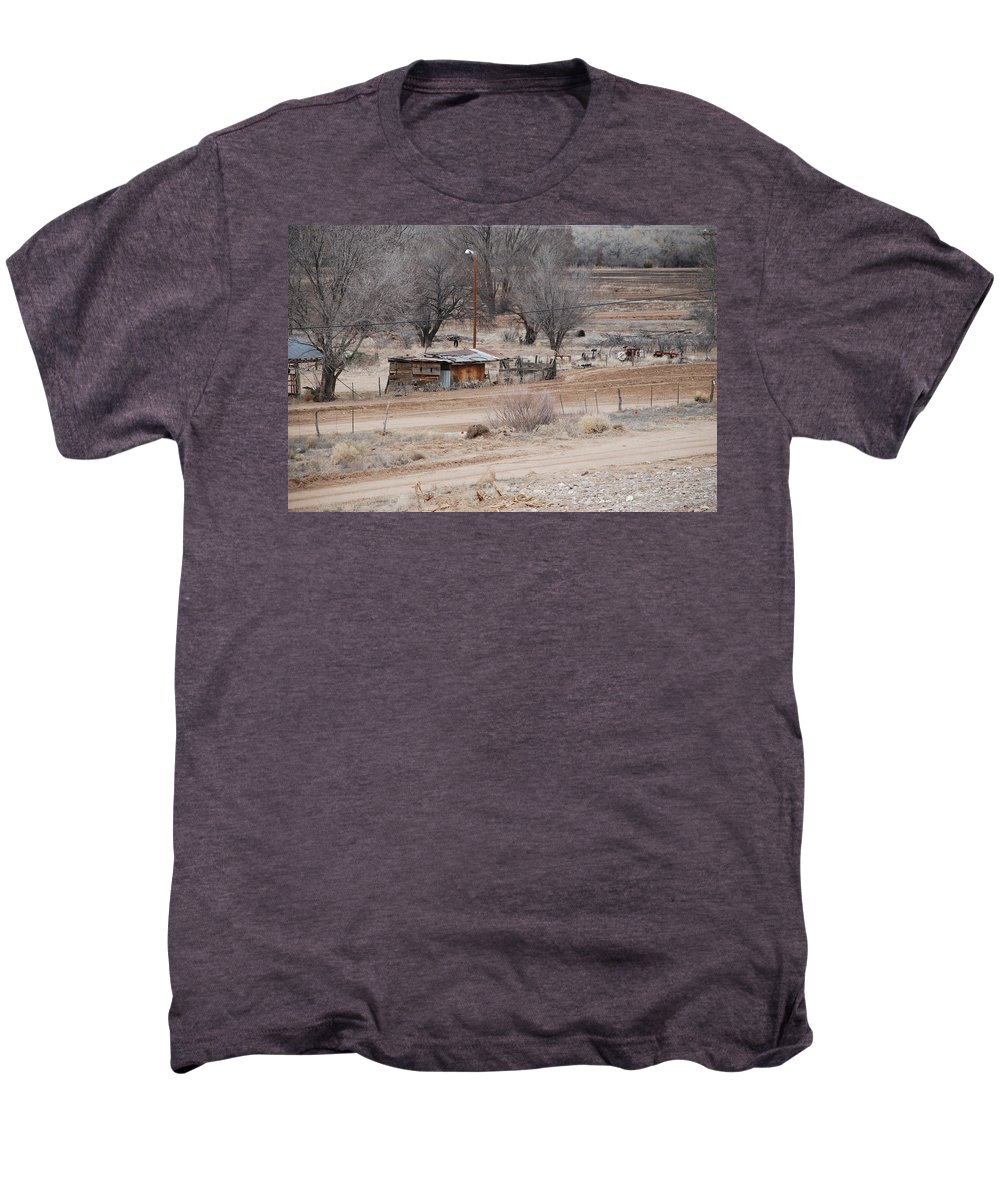 House Men's Premium T-Shirt featuring the photograph Old Ranch House by Rob Hans