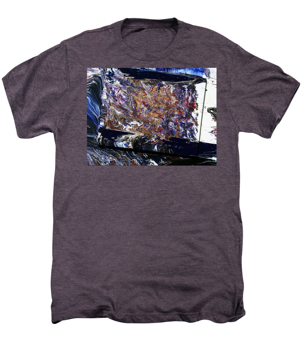 Fusionart Men's Premium T-Shirt featuring the painting Revolution by Ralph White
