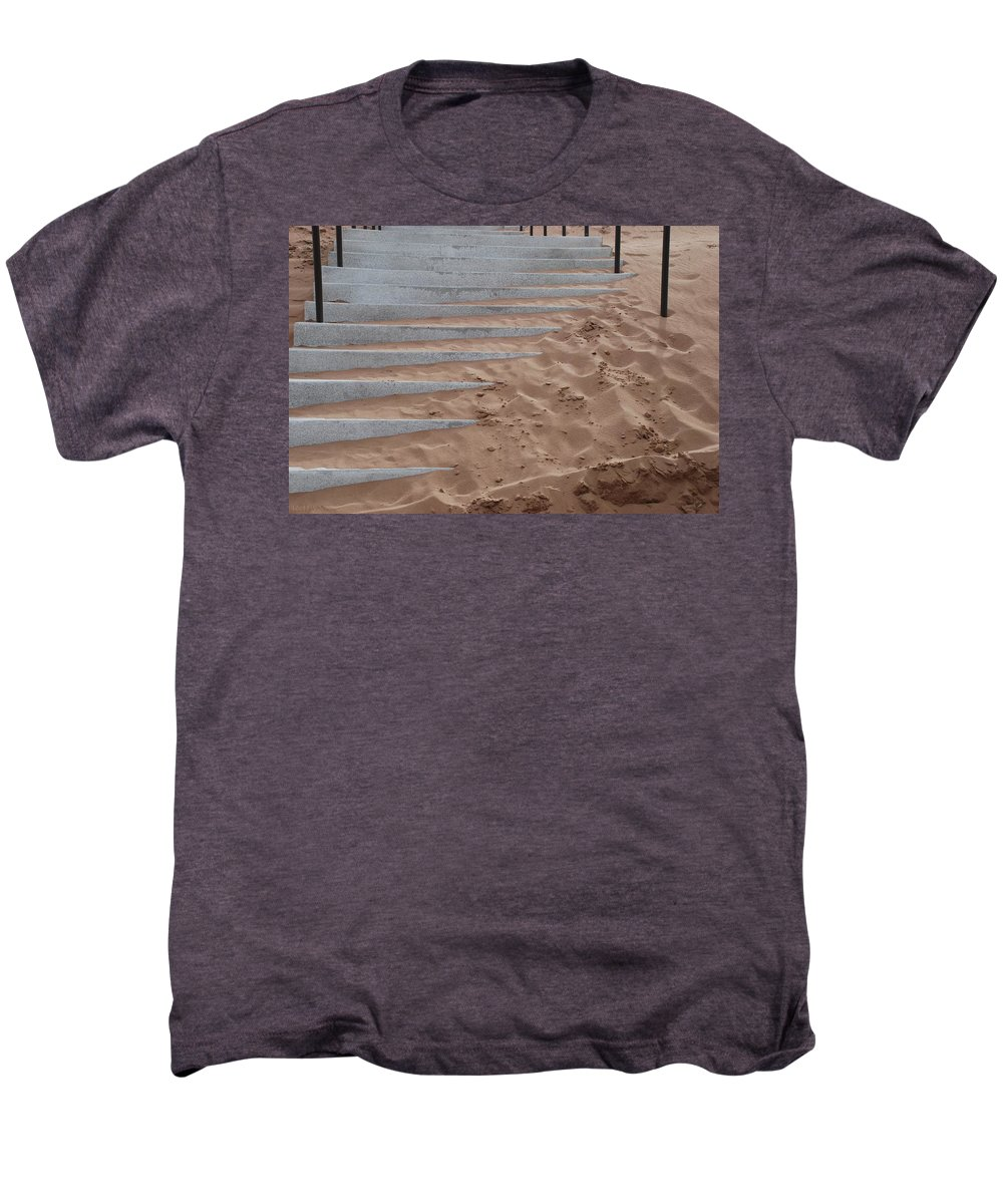 Pop Art Men's Premium T-Shirt featuring the photograph Sands Of Time by Rob Hans