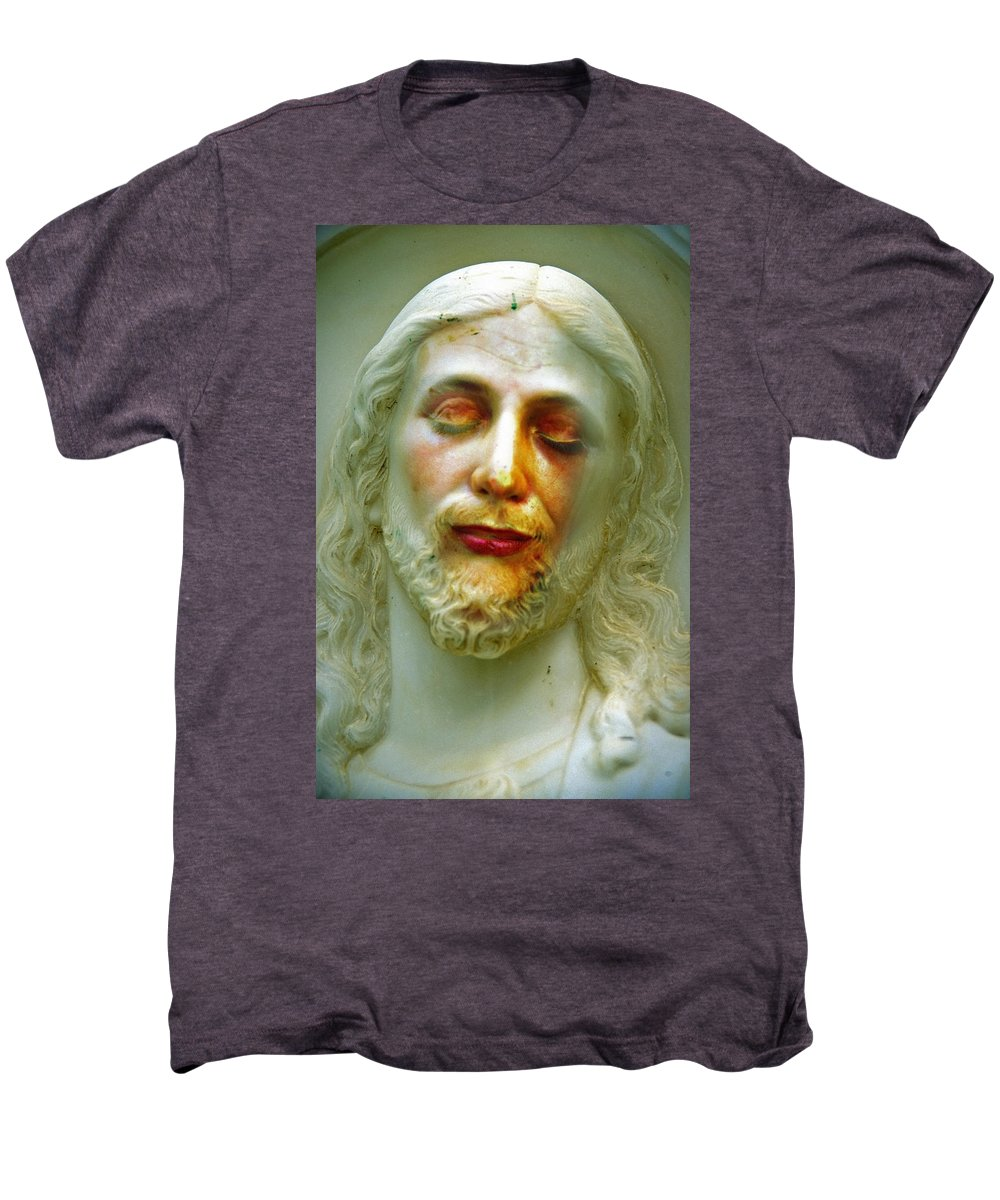 Jesus Men's Premium T-Shirt featuring the photograph Shesus by Skip Hunt