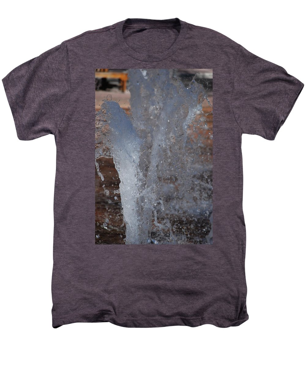Water Men's Premium T-Shirt featuring the photograph Splash by Rob Hans