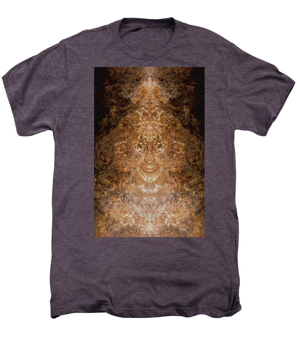 Rocks Men's Premium T-Shirt featuring the photograph Sunqueen Of Woodstock by Nancy Griswold