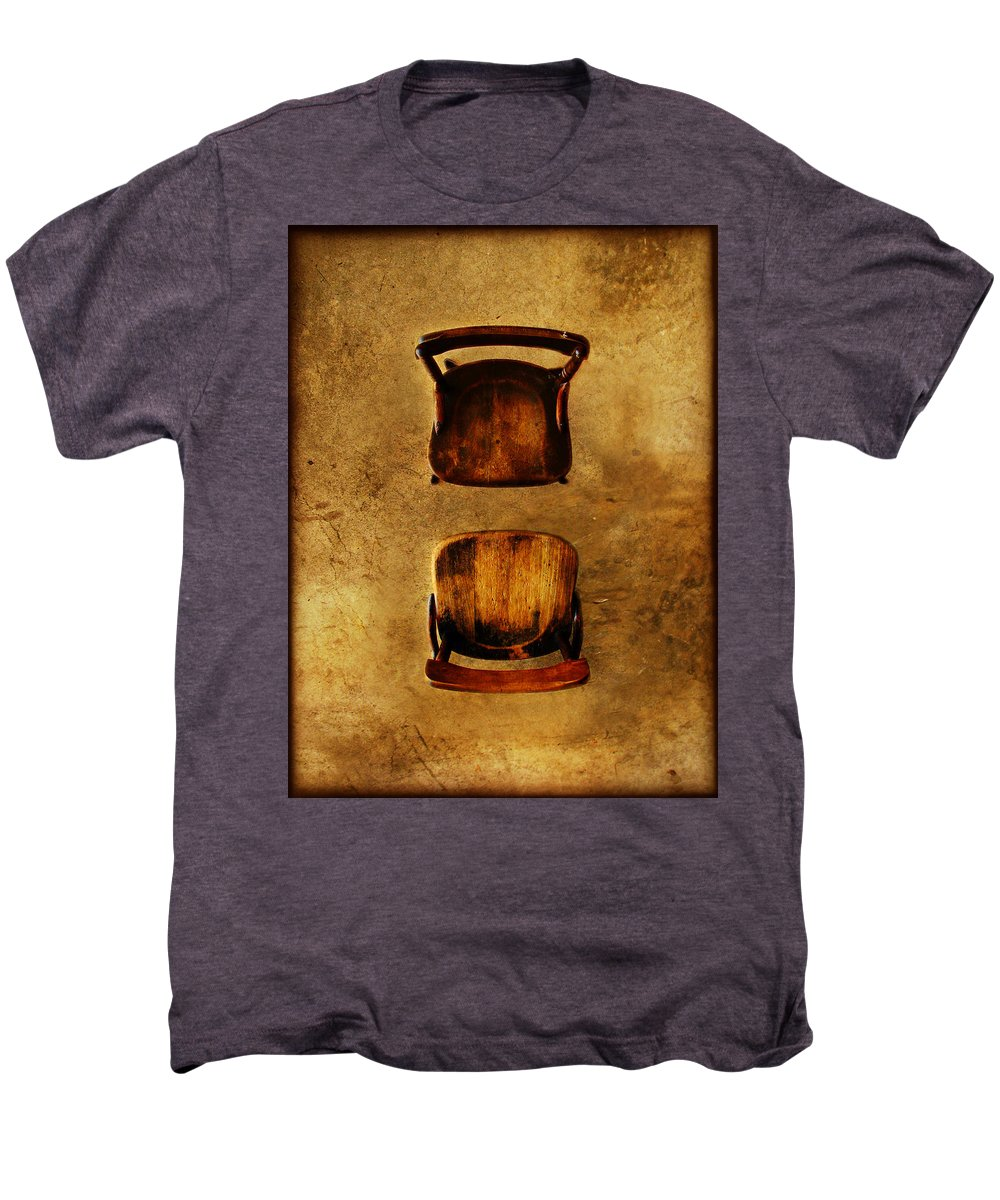 Dipasquale Men's Premium T-Shirt featuring the photograph The Space Between You And Me by Dana DiPasquale