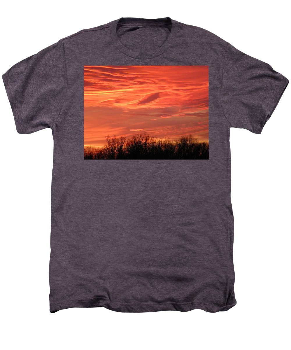 Sunset Men's Premium T-Shirt featuring the photograph Who Needs Jupiter by Gale Cochran-Smith