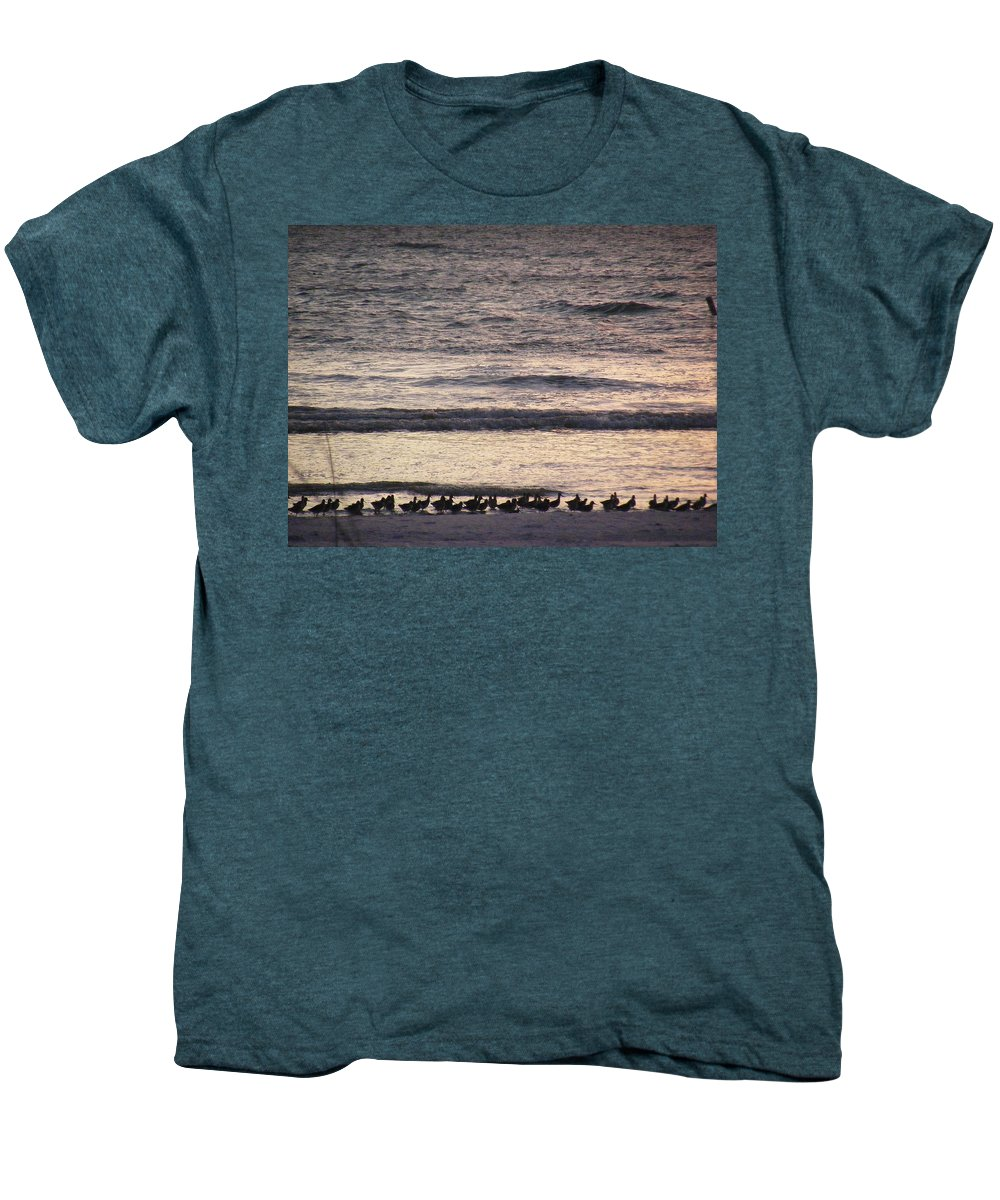 Evening Stroll Men's Premium T-Shirt featuring the photograph An Evening Stroll by Ed Smith