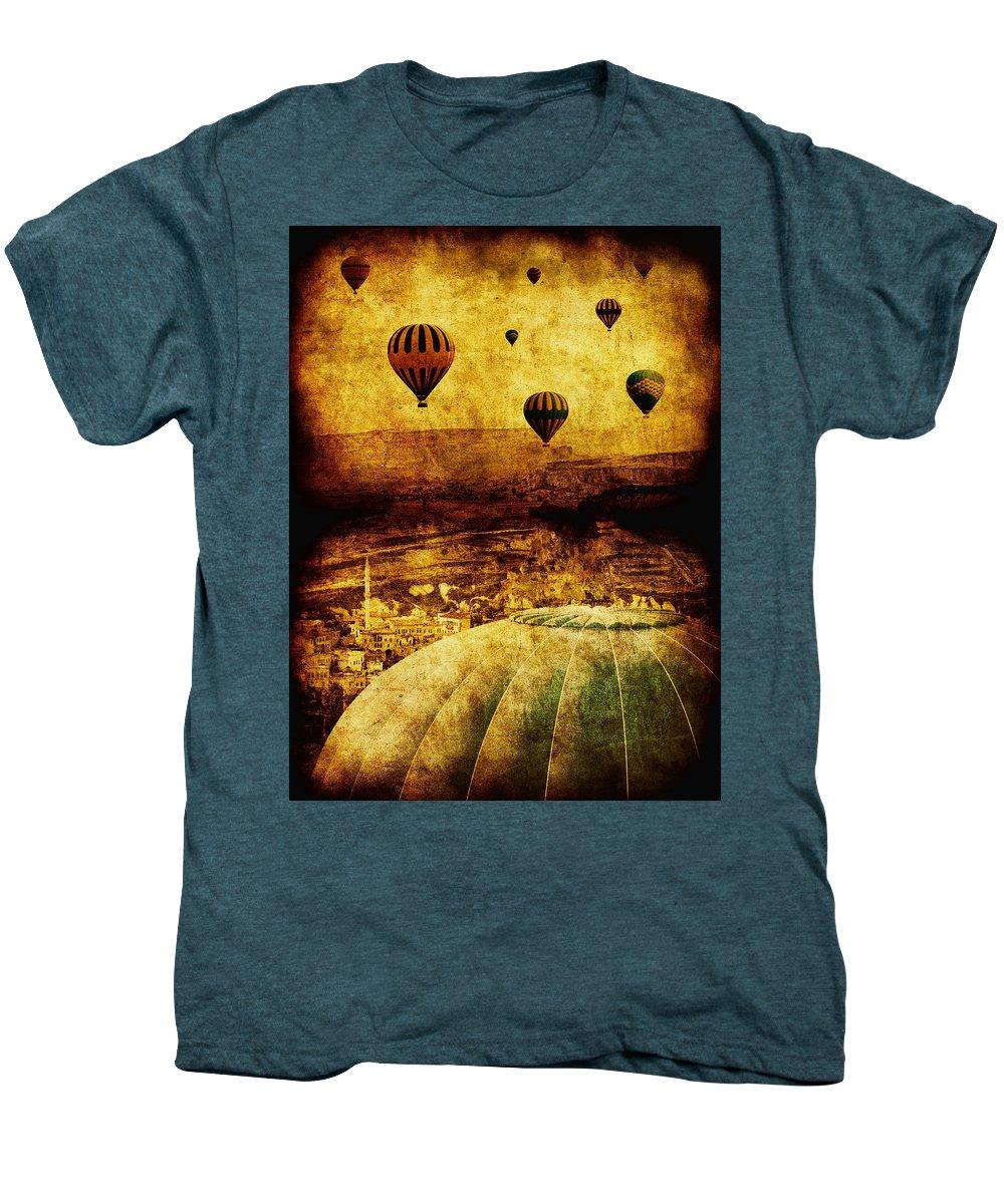 Hot Men's Premium T-Shirt featuring the photograph Cerebral Hemisphere by Andrew Paranavitana