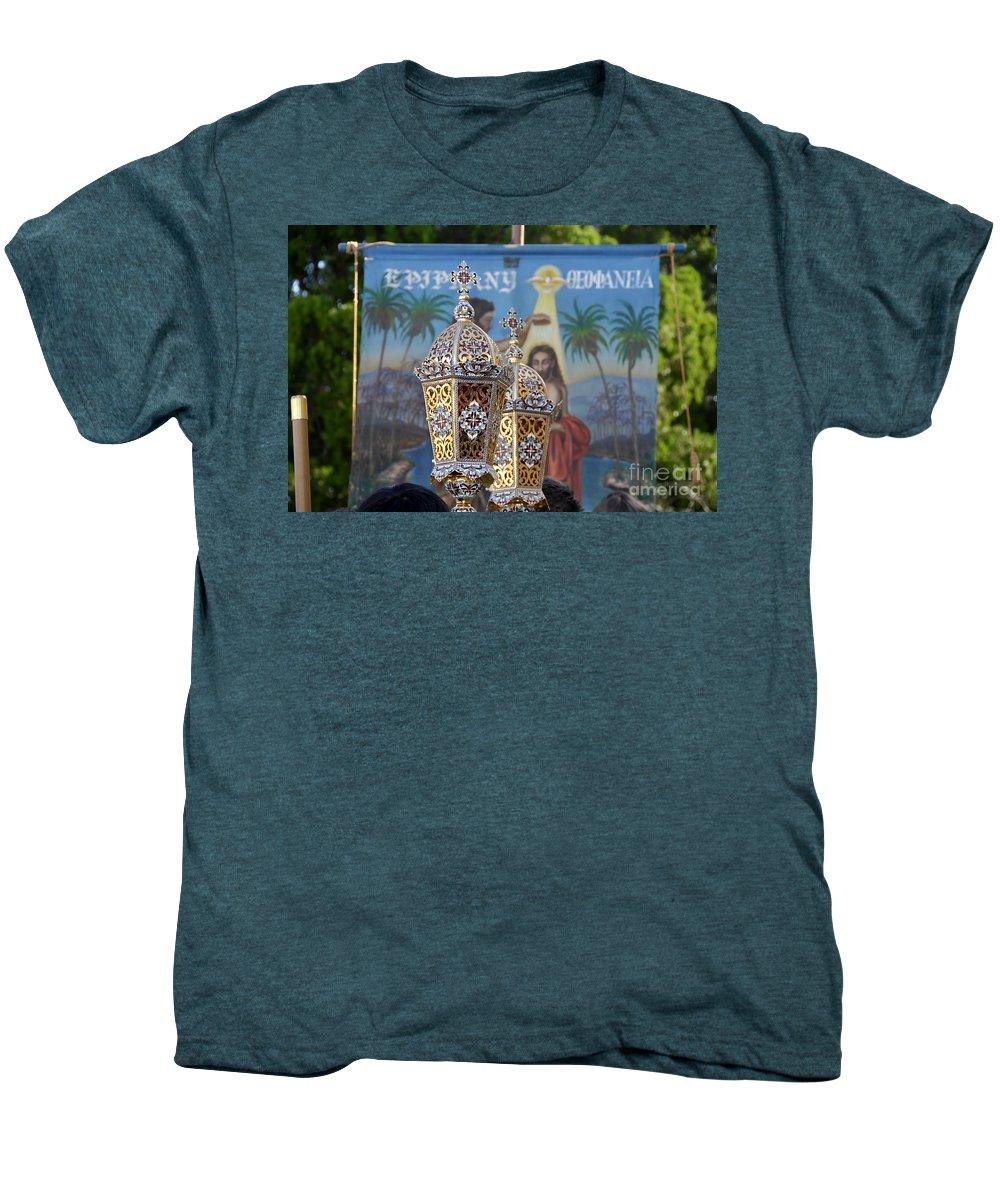 Epiphany Men's Premium T-Shirt featuring the photograph Epiphany Celebration by David Lee Thompson