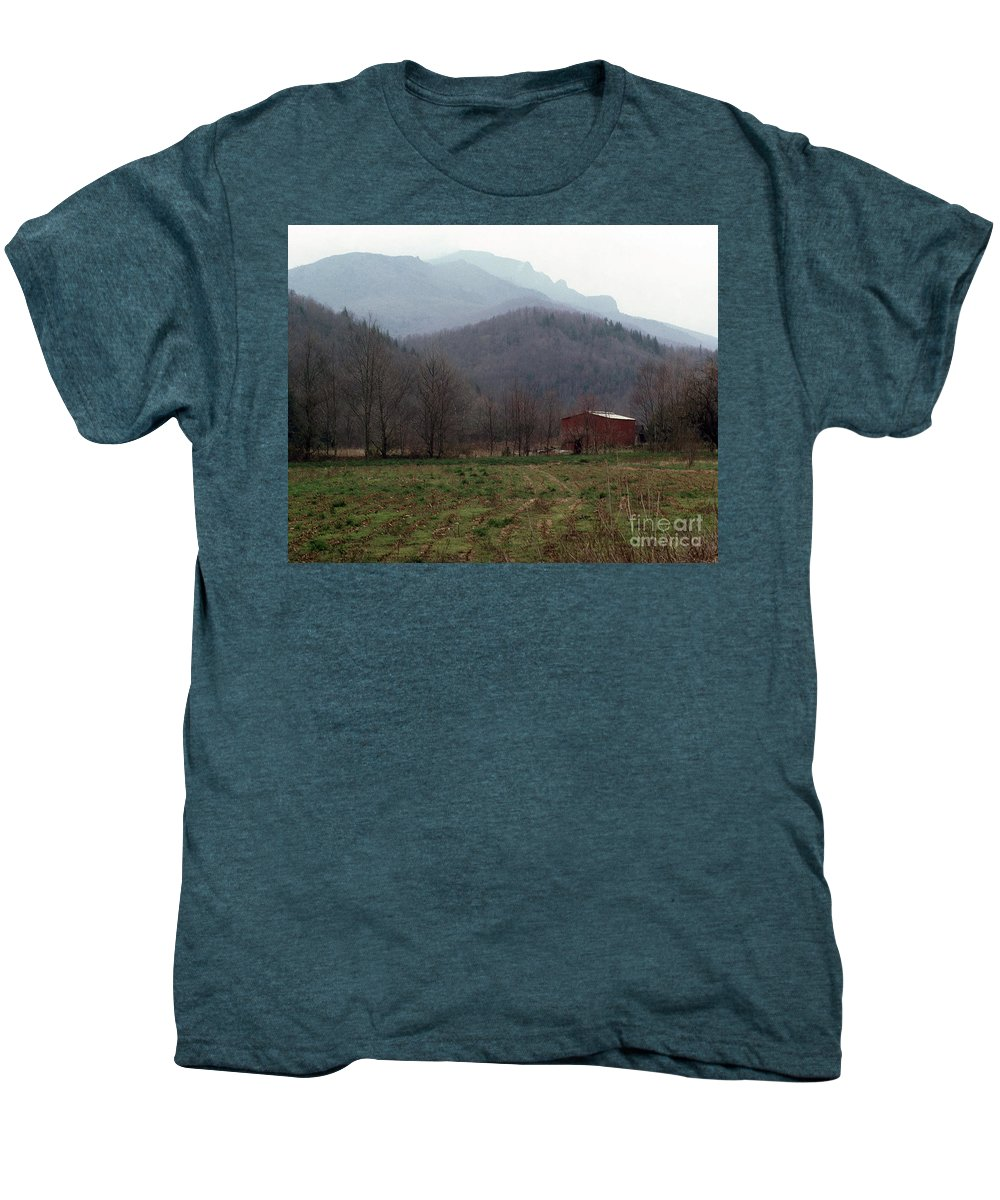 North Carolina Men's Premium T-Shirt featuring the photograph Grandfather Mountain by Richard Rizzo