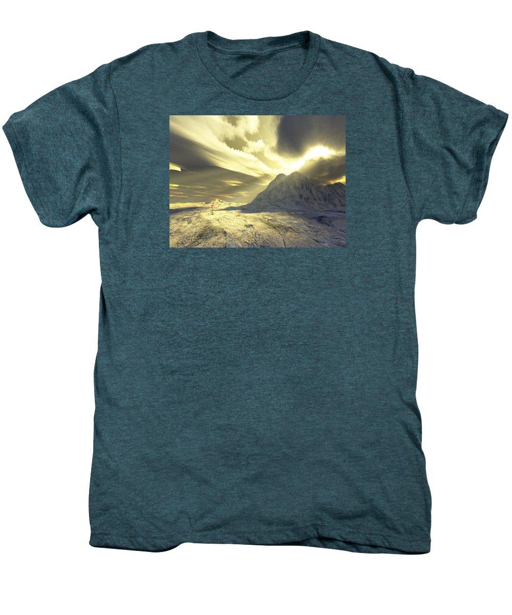 Loved Men's Premium T-Shirt featuring the digital art Loved - Never Forgotten by Jennifer Kathleen Phillips
