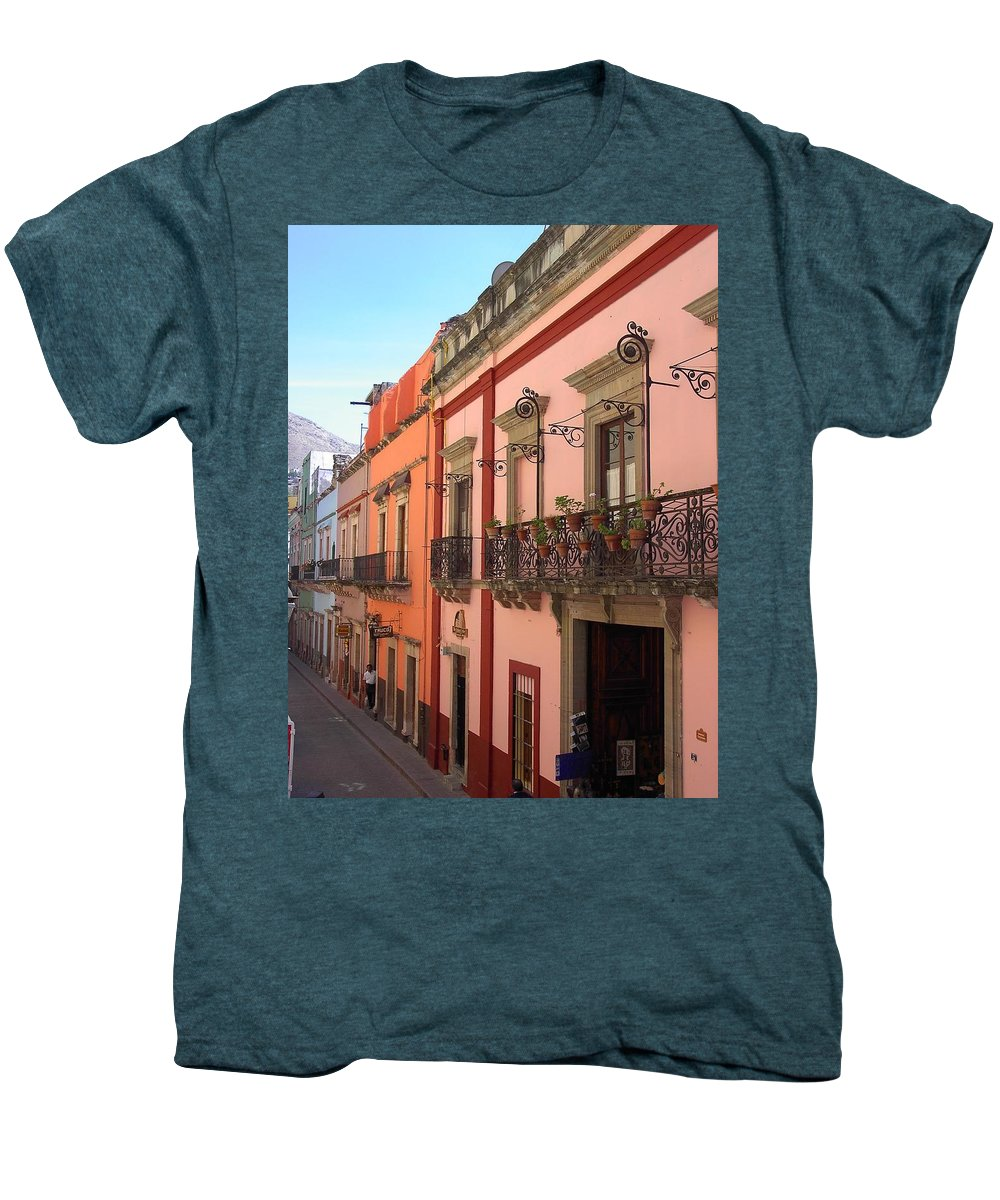 Charity Men's Premium T-Shirt featuring the photograph Mexico by Mary-Lee Sanders
