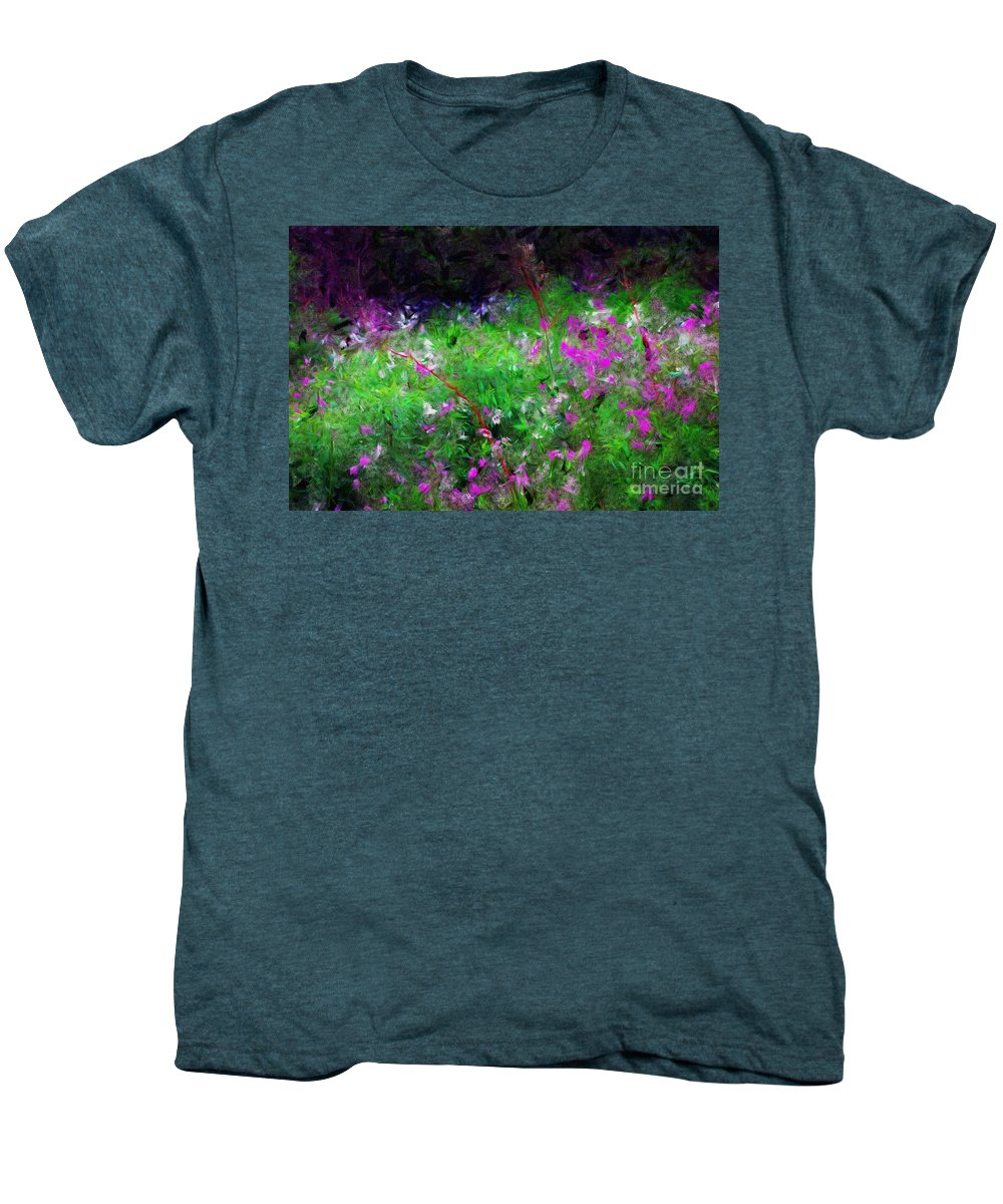 Digital Photograph Men's Premium T-Shirt featuring the photograph Mixed Up by David Lane