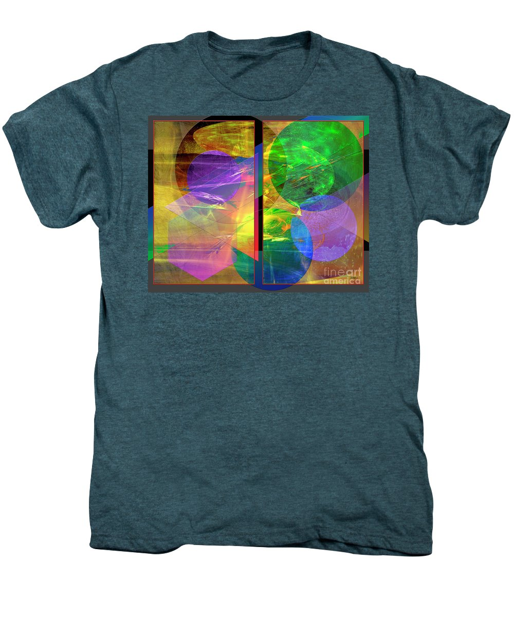 Progressive Intervention Men's Premium T-Shirt featuring the digital art Progressive Intervention by John Beck