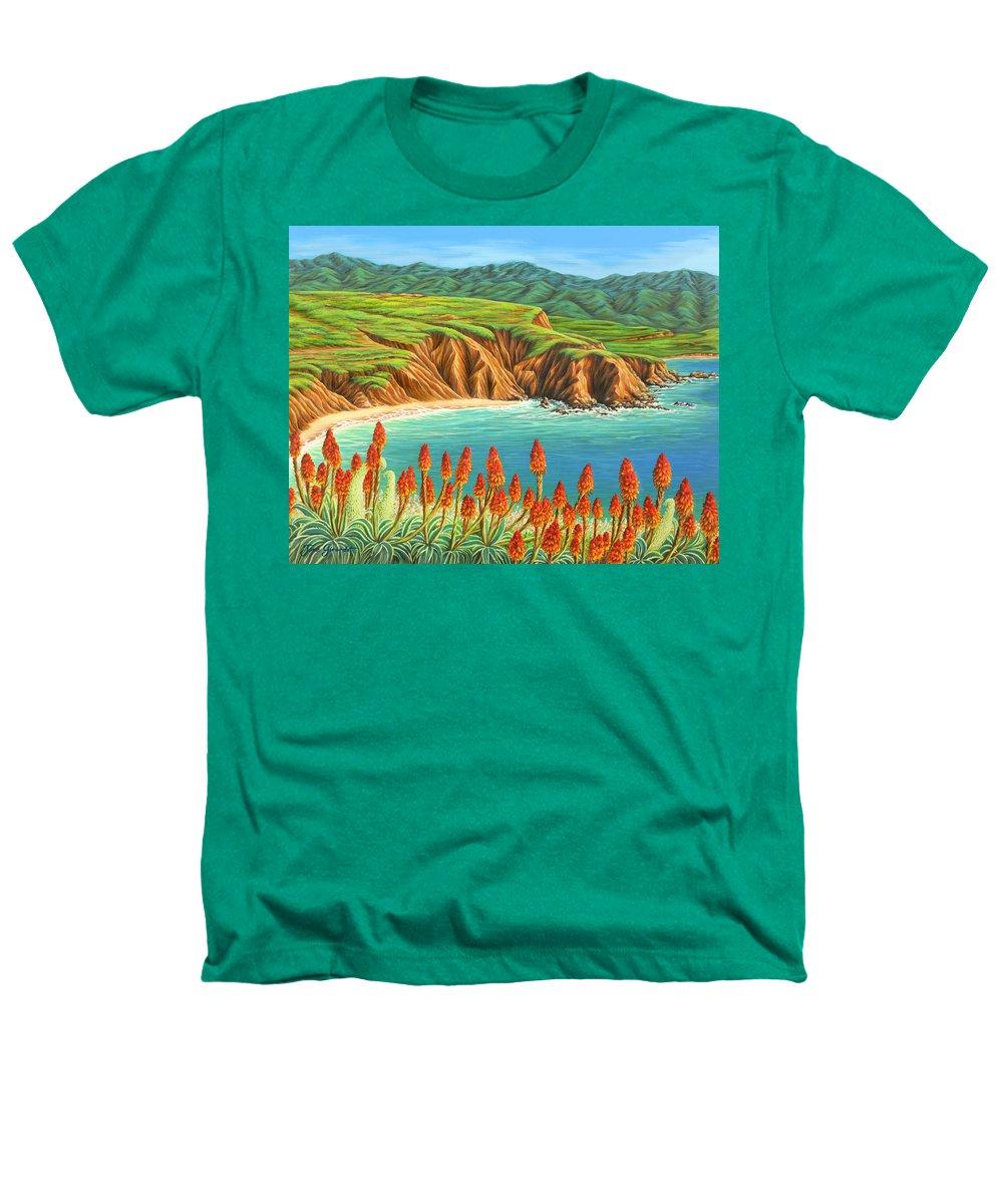Ocean Heathers T-Shirt featuring the painting San Mateo Springtime by Jane Girardot