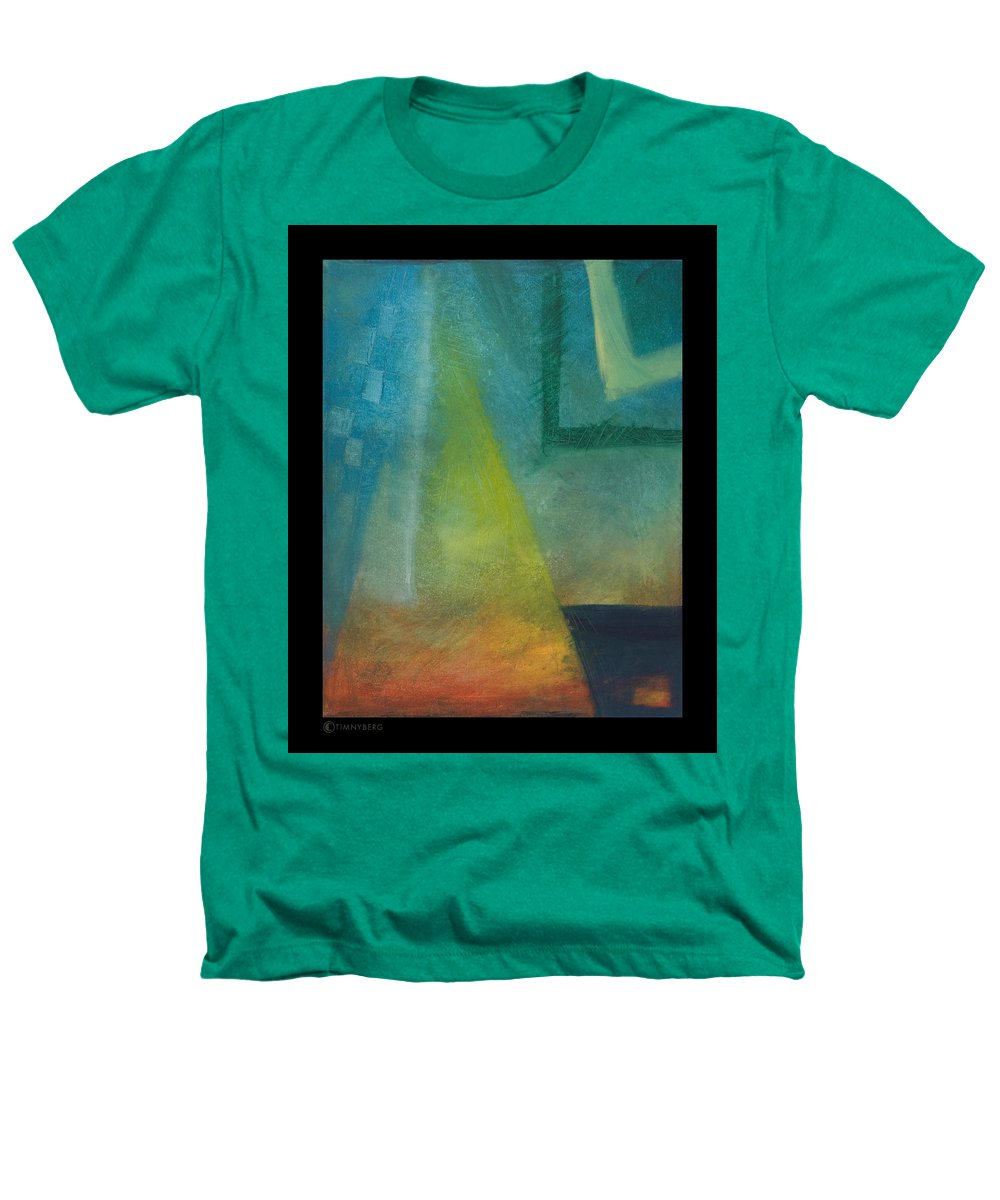 Sunset Heathers T-Shirt featuring the painting Sunset Sail by Tim Nyberg
